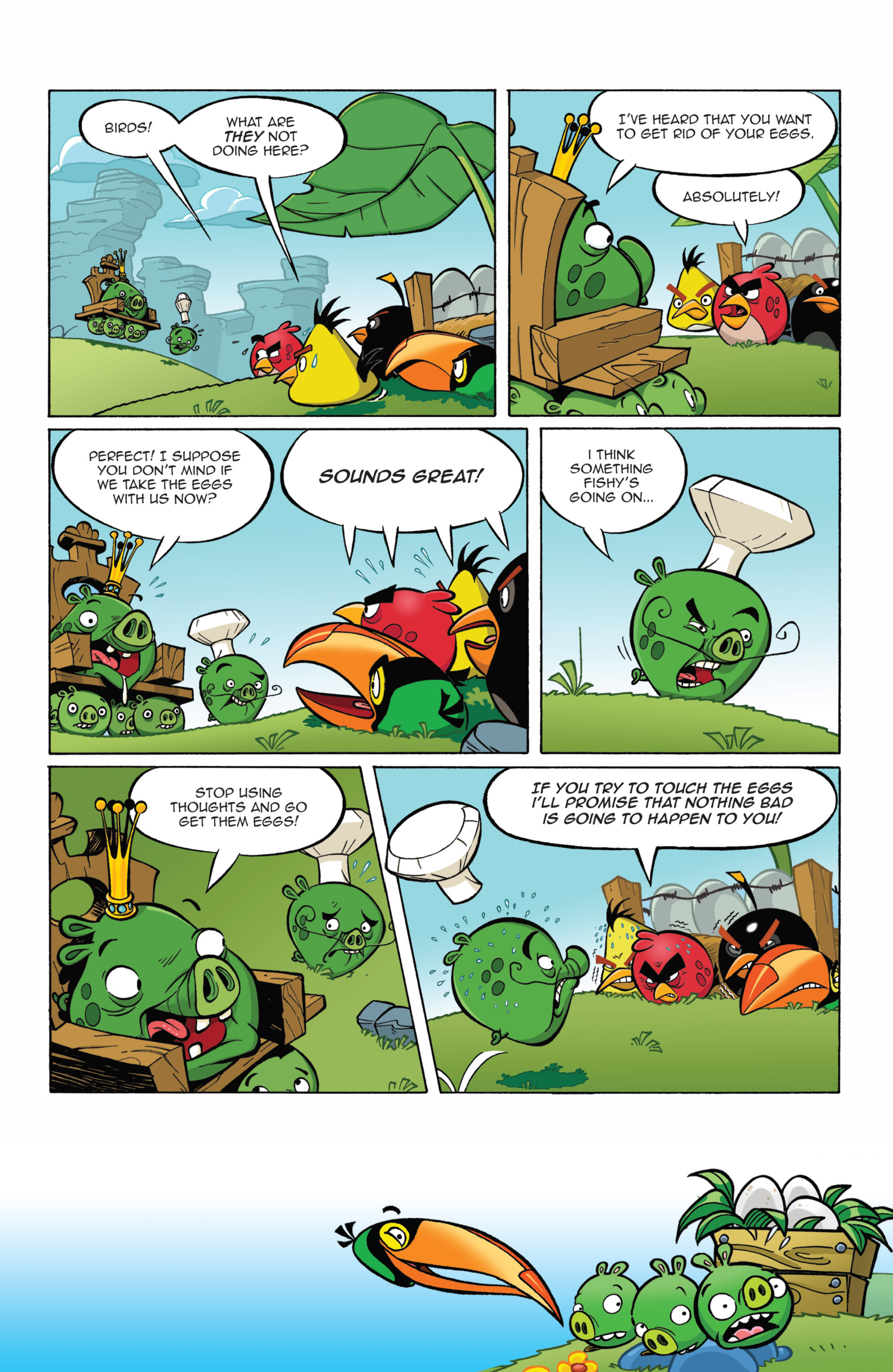 Read online Angry Birds Comics (2014) comic -  Issue #7 - 19