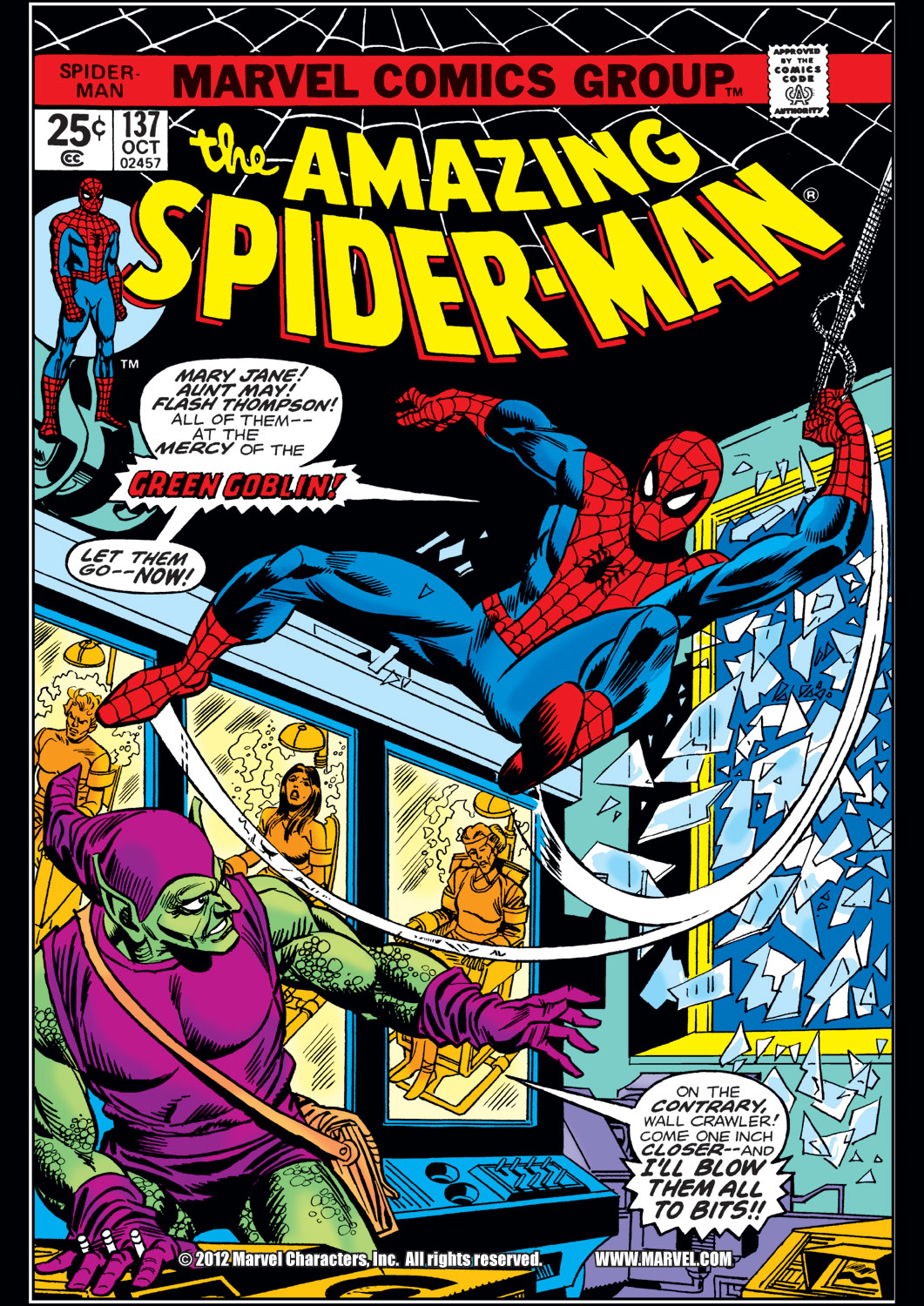 The Amazing Spider-Man (1963) 137 Page 0