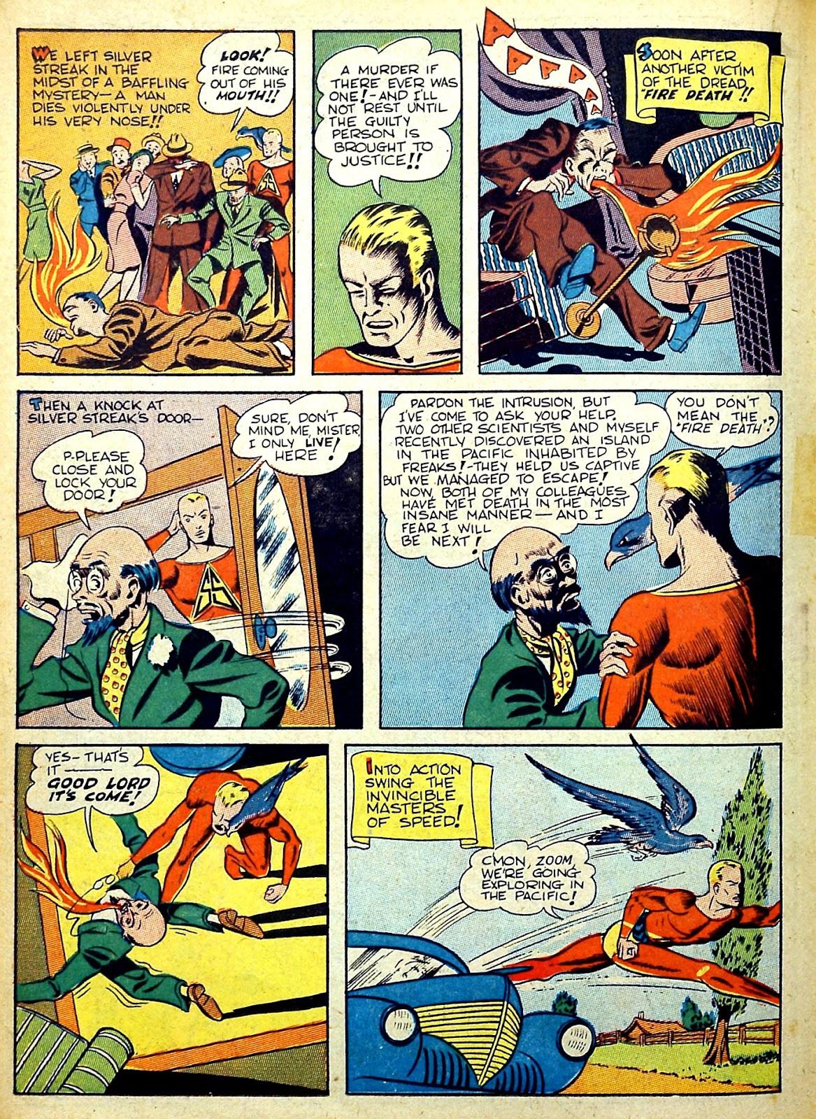 Read online Silver Streak Comics comic -  Issue #22 - 34