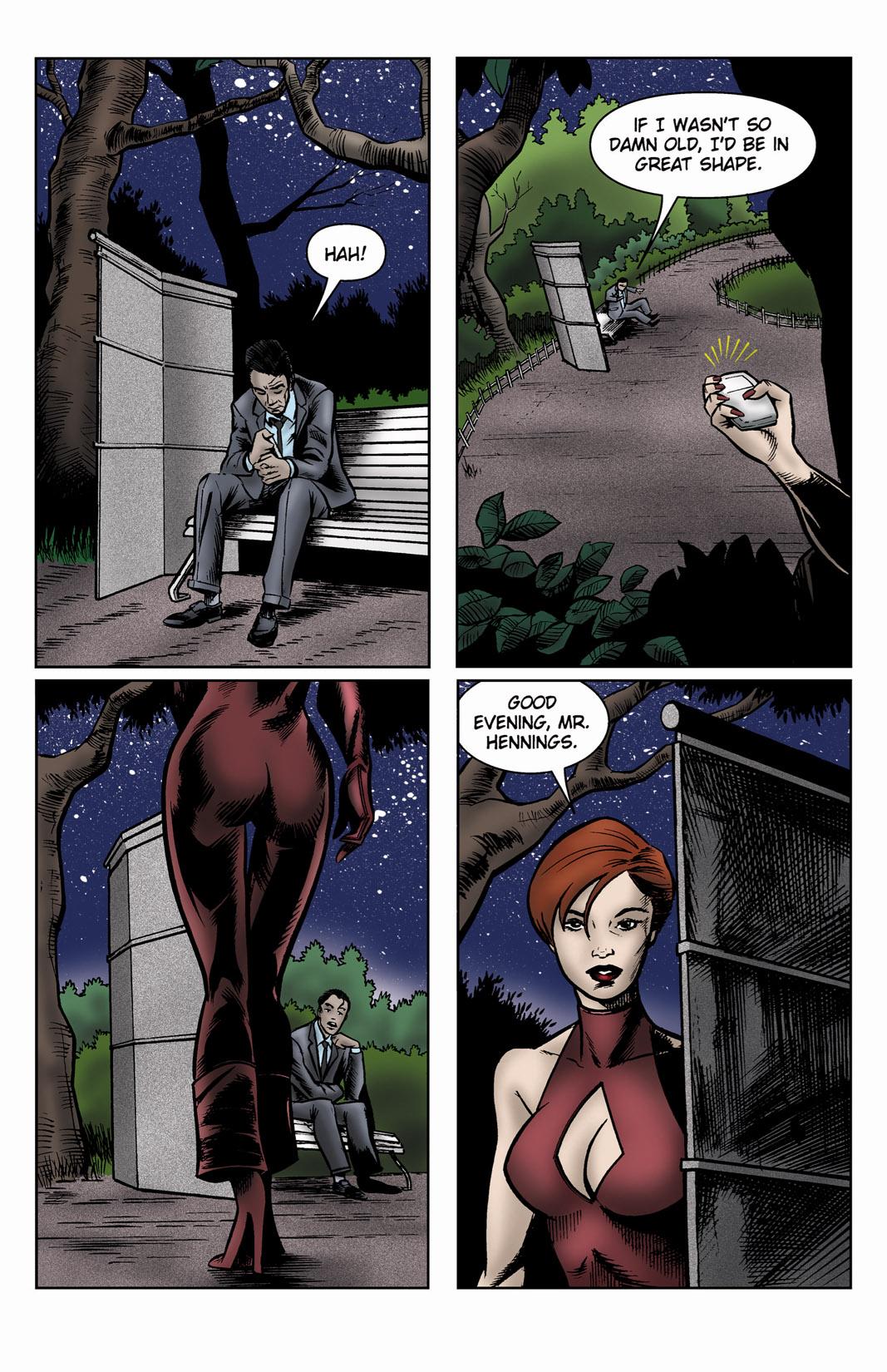 Read online SideChicks comic -  Issue #3 - 18