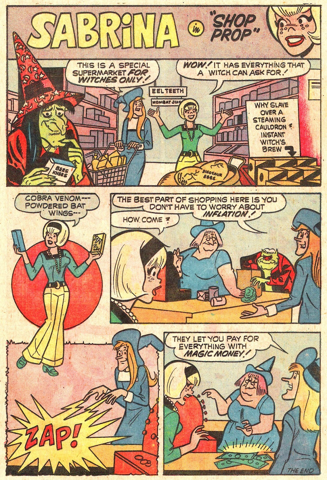 Sabrina The Teenage Witch (1971) Issue #16 #16 - English 29