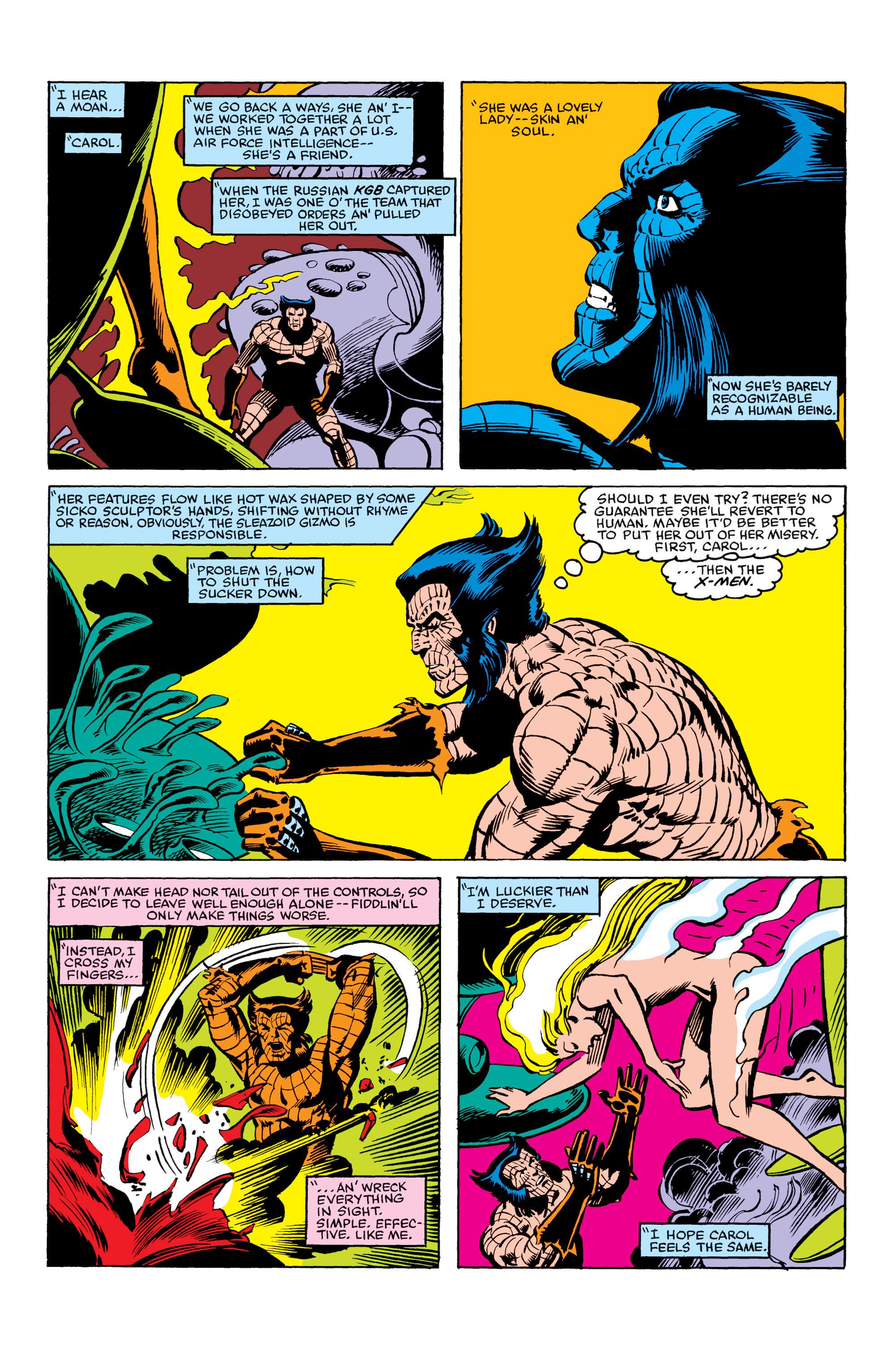 Read online Uncanny X-Men (1963) comic -  Issue #163 - 6