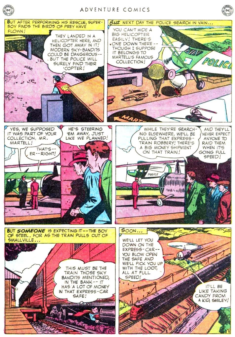 Read online Adventure Comics (1938) comic -  Issue #156 - 7