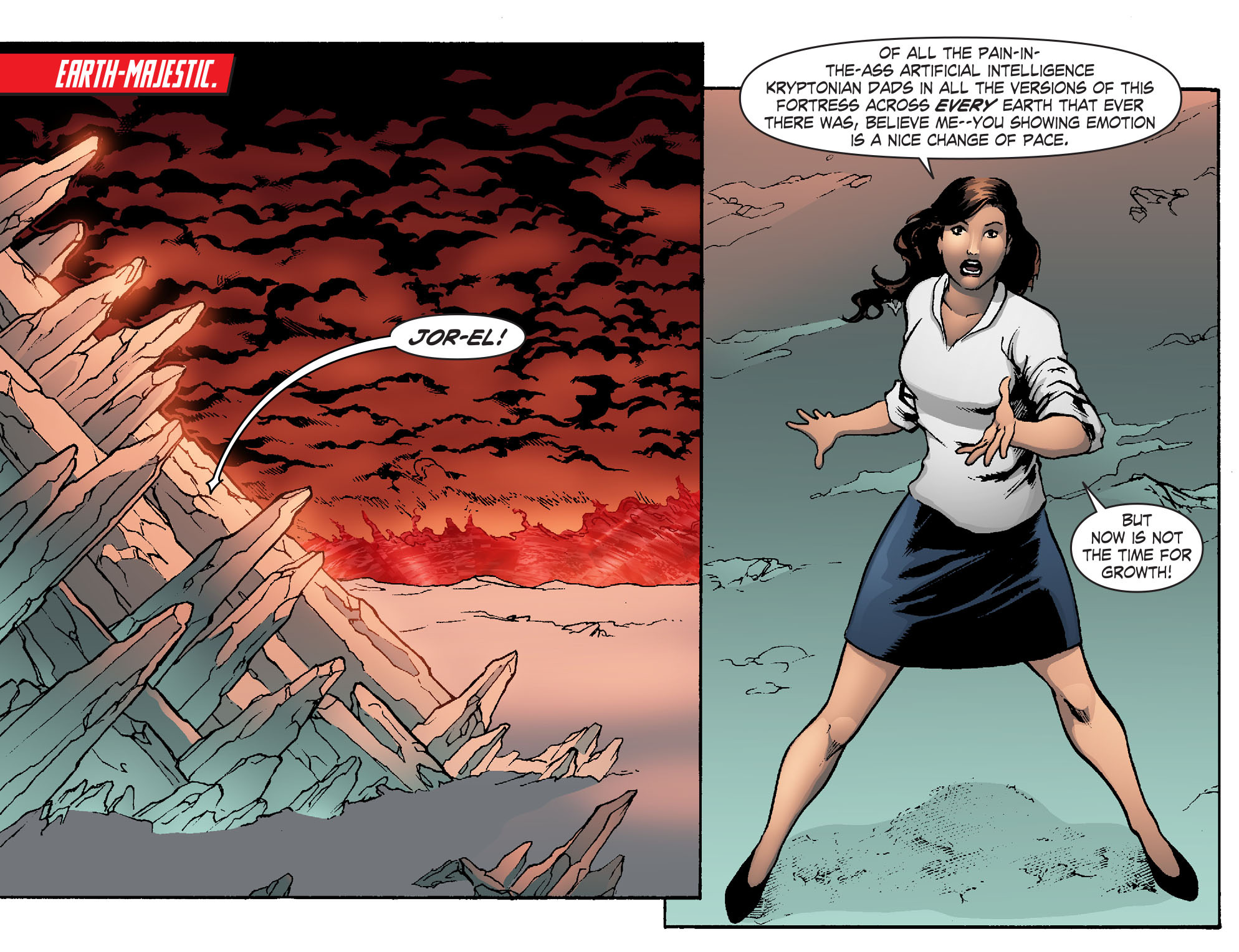 Read online Smallville: Chaos [II] comic -  Issue #6 - 11