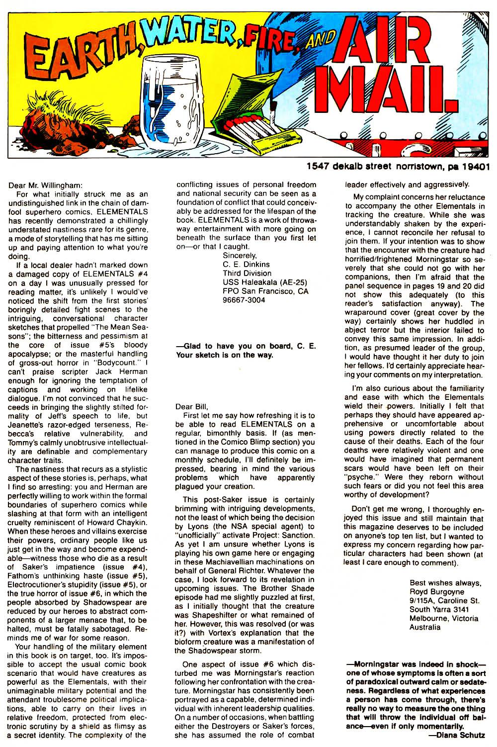 Elementals (1984) issue 9 - Page 33