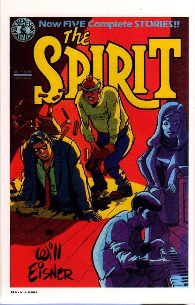 Read online Will Eisner's The Spirit Archives comic -  Issue # TPB 26 (Part 2) - 51