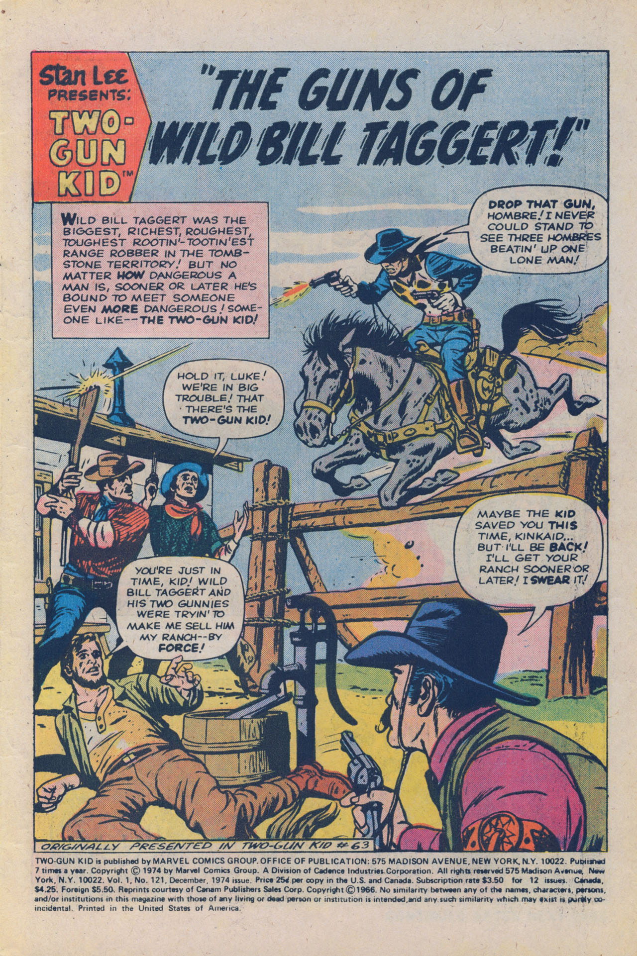 Read online Two-Gun Kid comic -  Issue #121 - 3