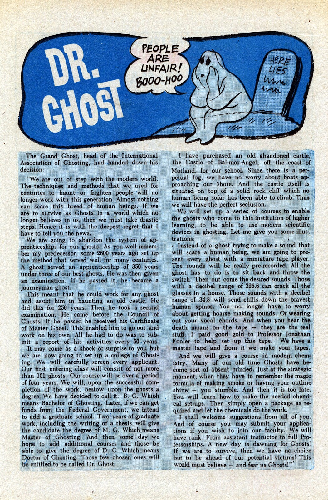 Read online Timmy the Timid Ghost comic -  Issue #15 - 13