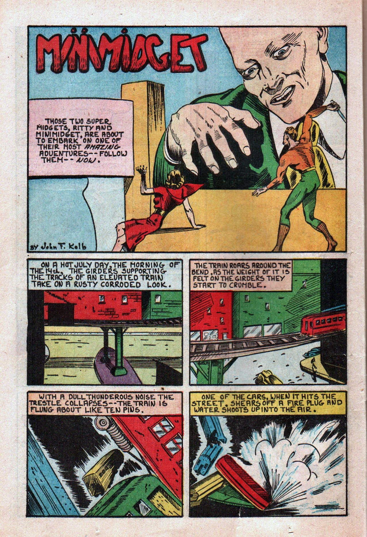 Read online Amazing Man Comics comic -  Issue #20 - 23