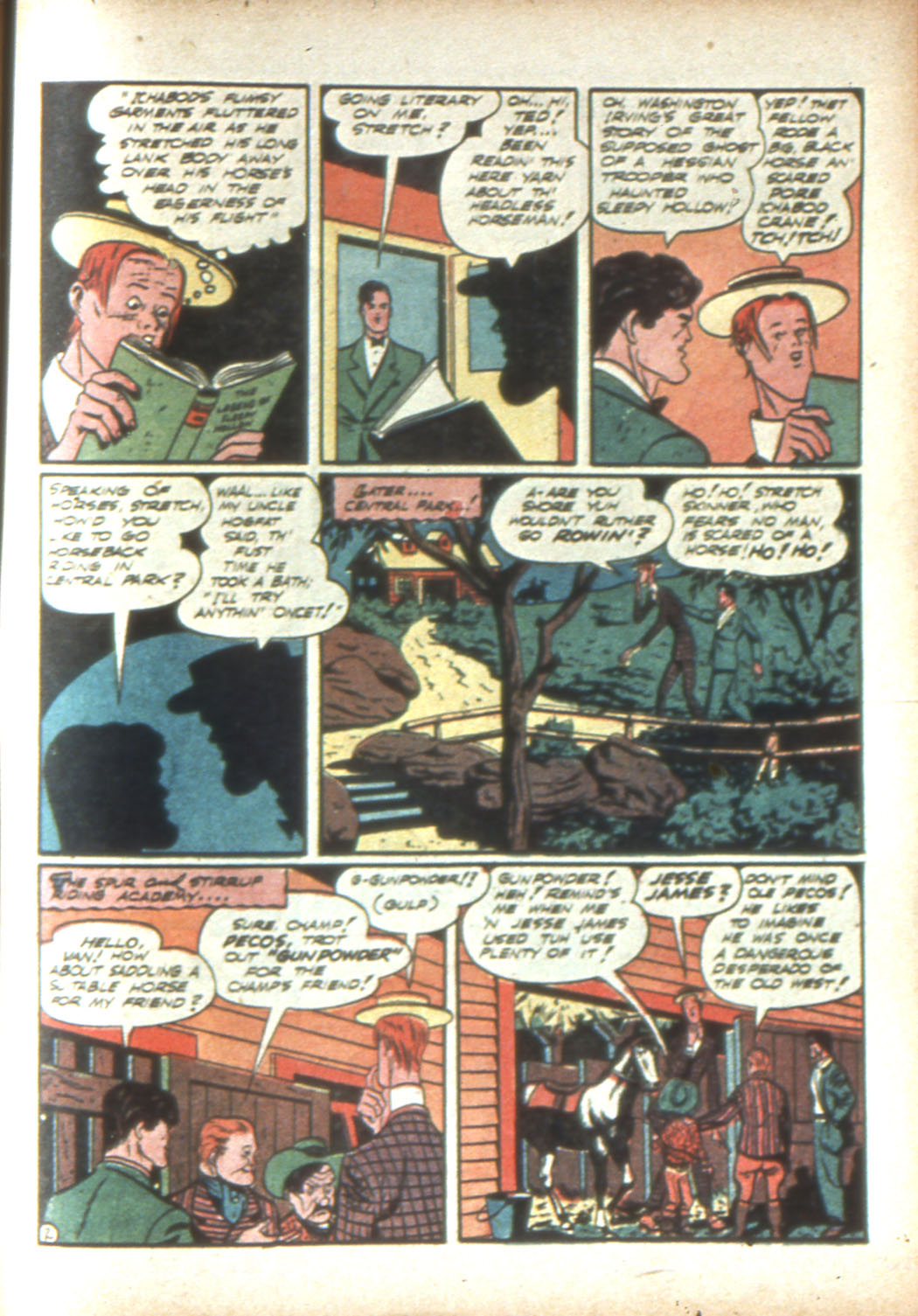 Read online Sensation (Mystery) Comics comic -  Issue #16 - 57
