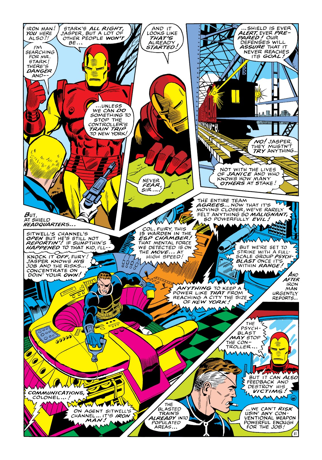 Read online Marvel Masterworks: The Invincible Iron Man comic -  Issue # TPB 5 (Part 3) - 49