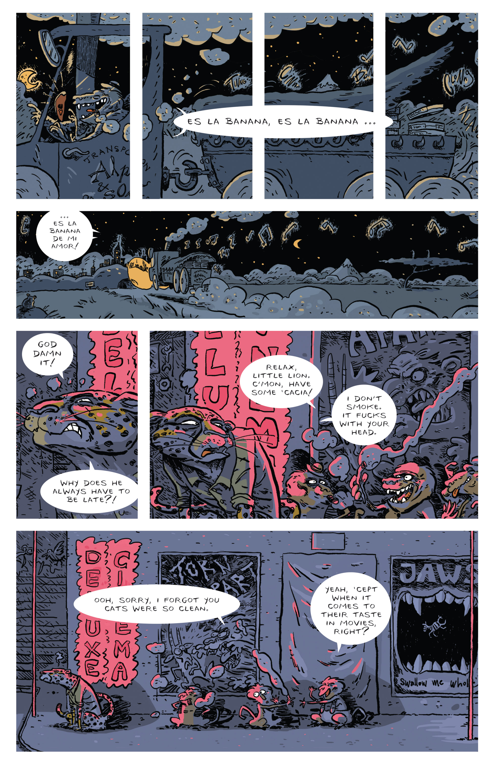 Read online Brutal Nature: Concrete Fury comic -  Issue #4 - 27