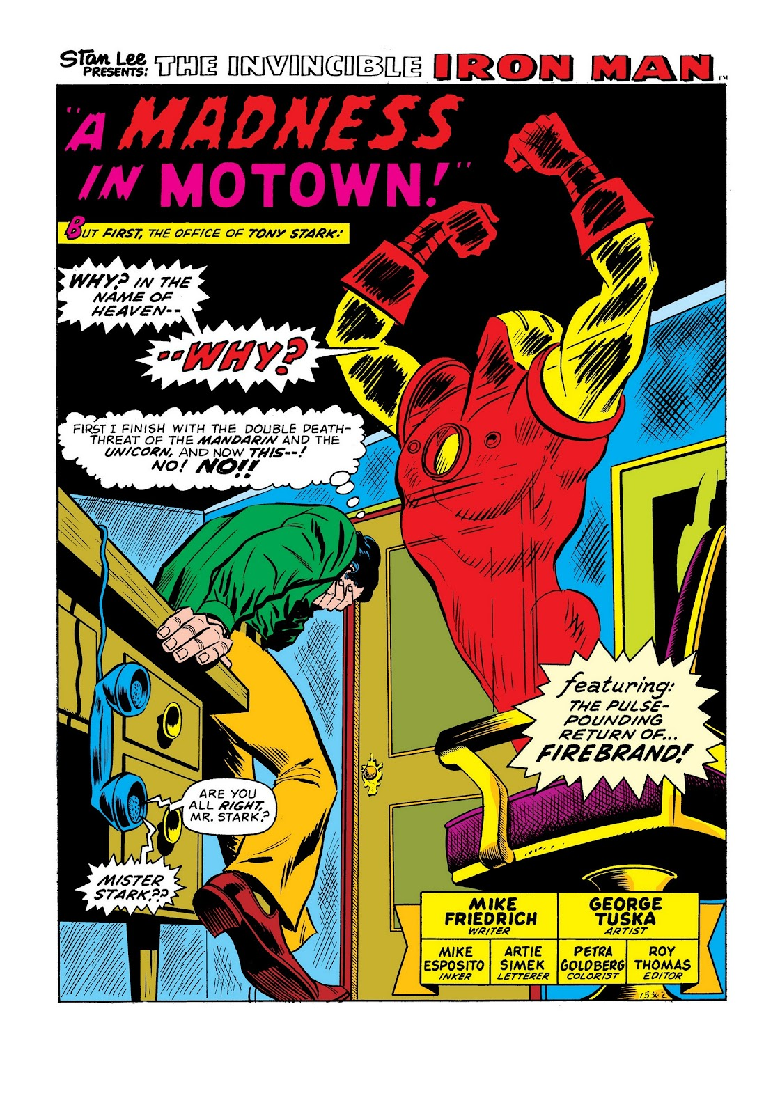 Read online Marvel Masterworks: The Invincible Iron Man comic -  Issue # TPB 9 (Part 2) - 13