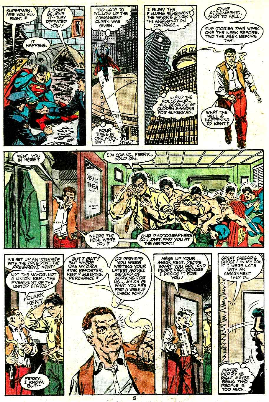 Adventures of Superman (1987) 430 Page 5