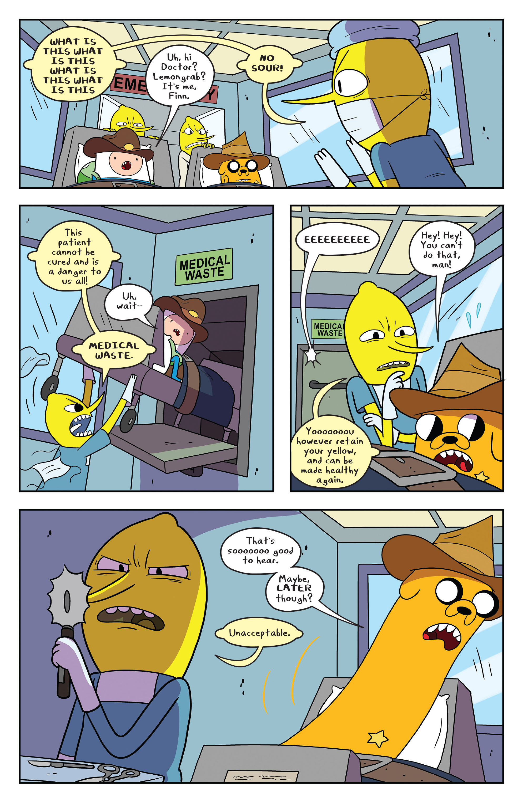 Read online Adventure Time comic -  Issue #55 - 12