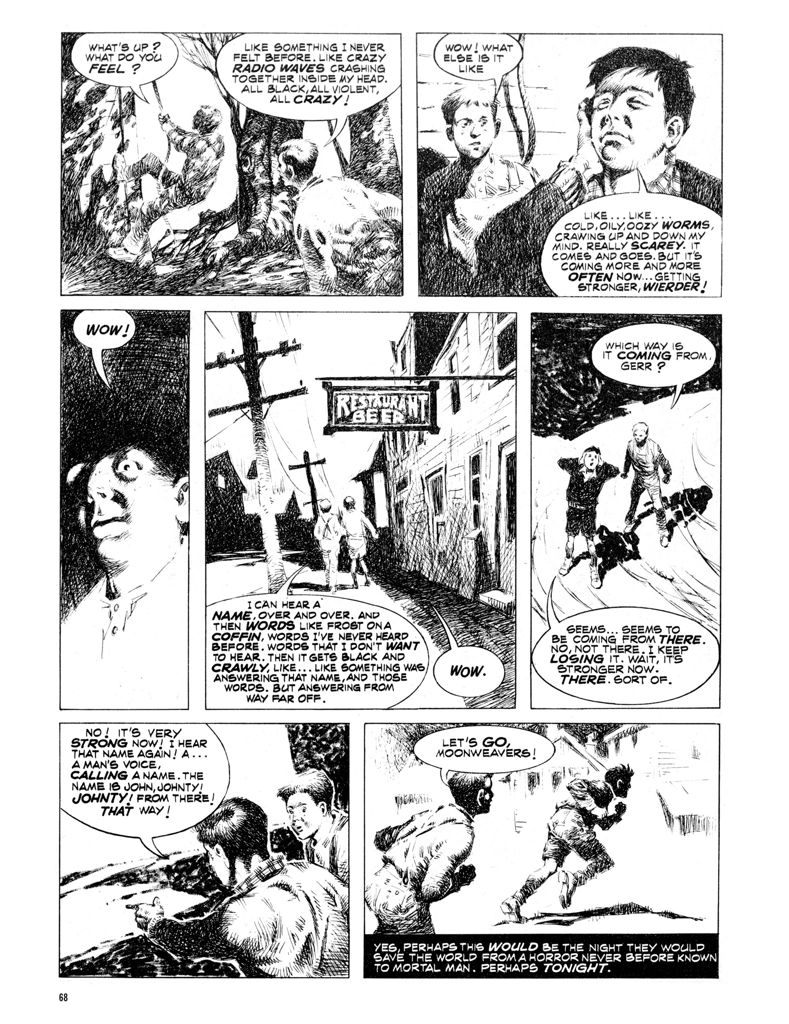 Read online Eerie Archives comic -  Issue # TPB 16 - 69