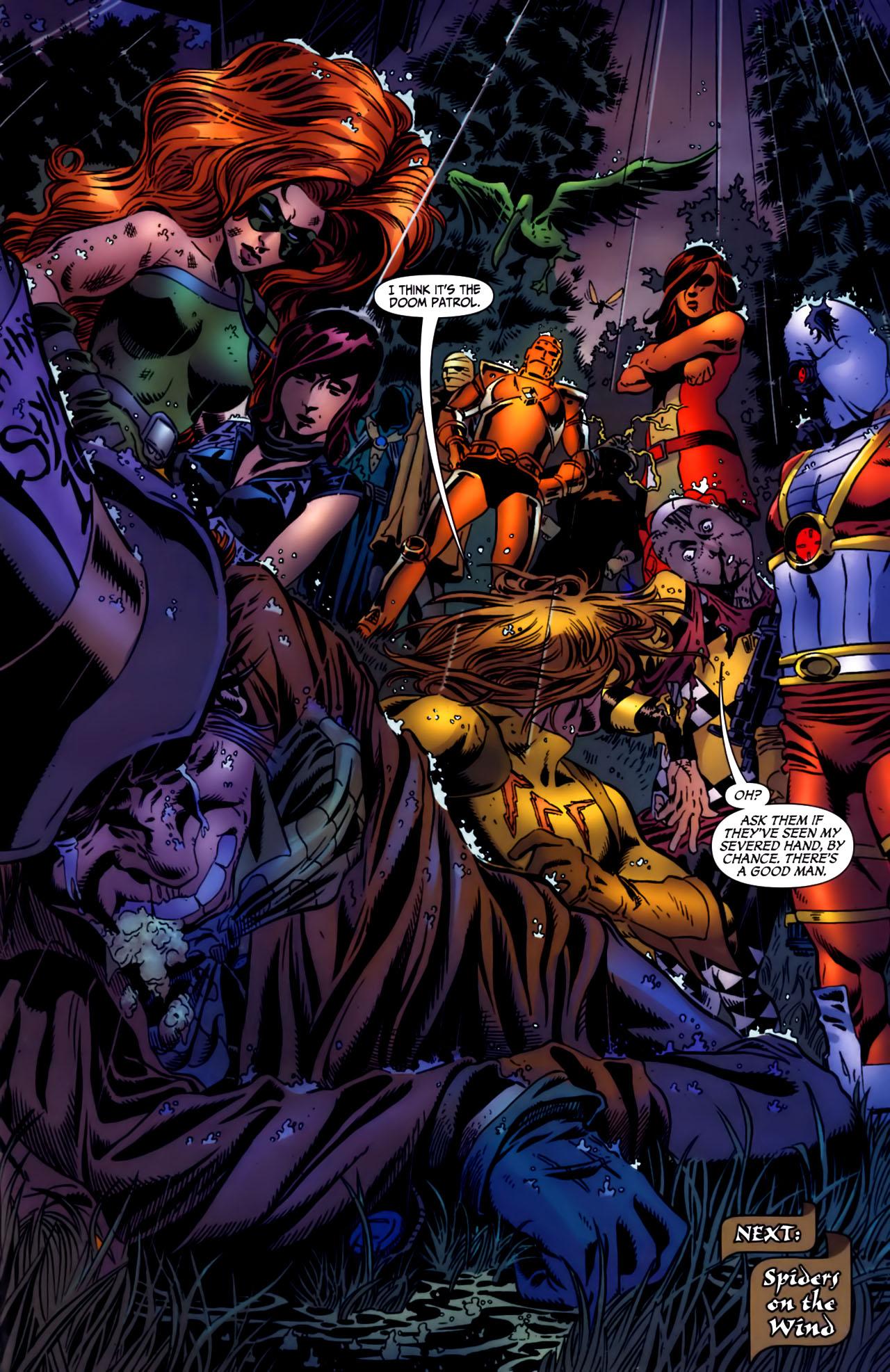 Read online Secret Six (2006) comic -  Issue #3 - 23
