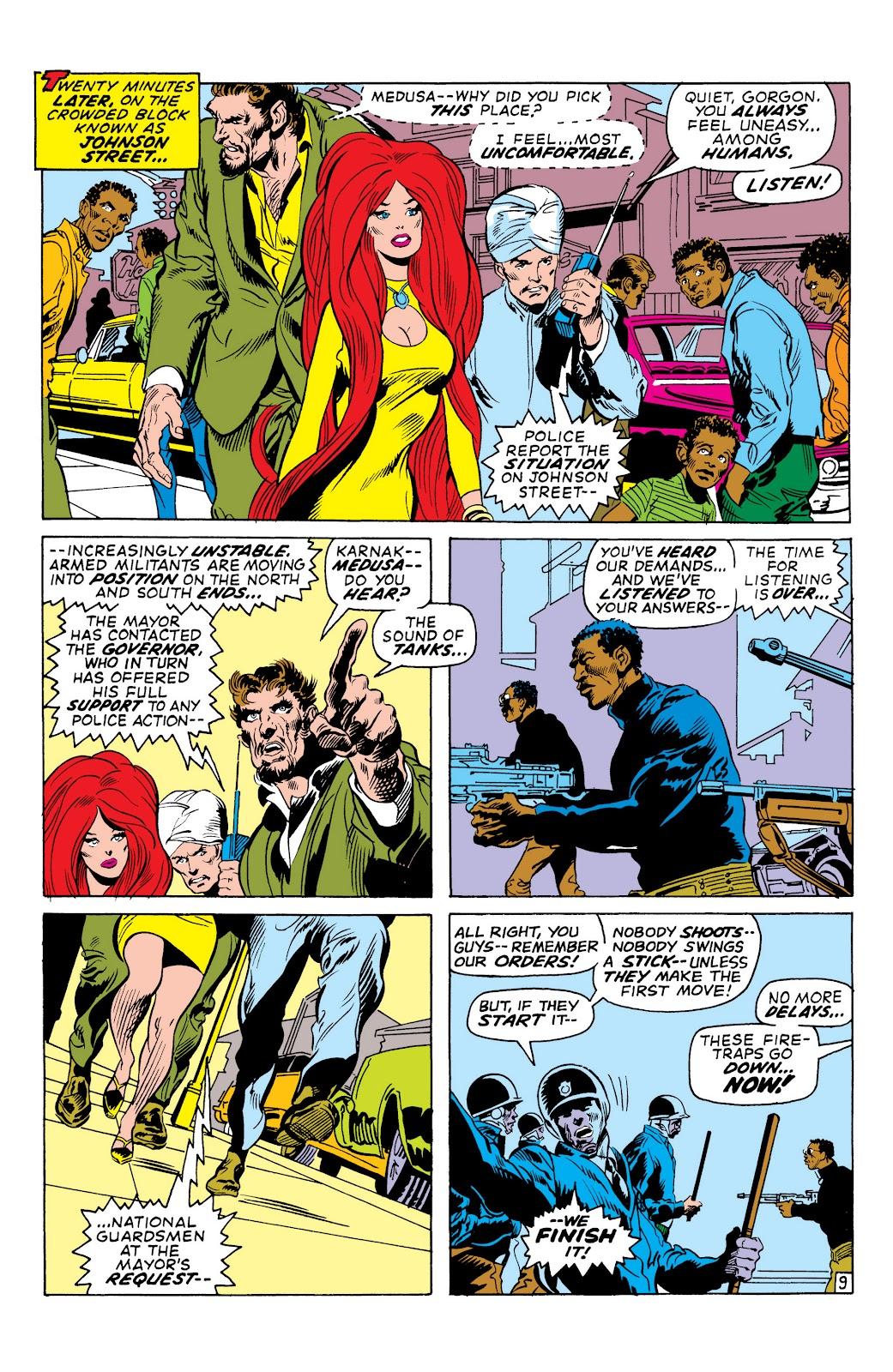 Read online Marvel Masterworks: The Inhumans comic -  Issue # TPB 1 (Part 2) - 44