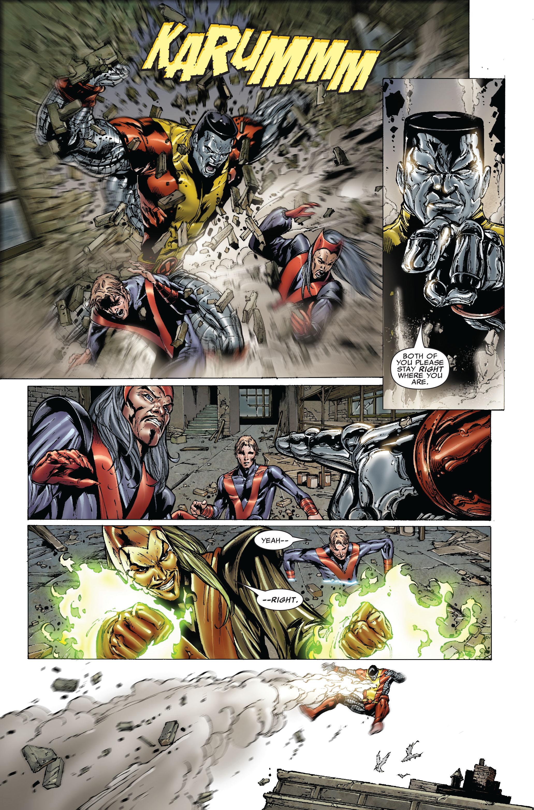 Read online Uncanny X-Men (1963) comic -  Issue #492 - 10
