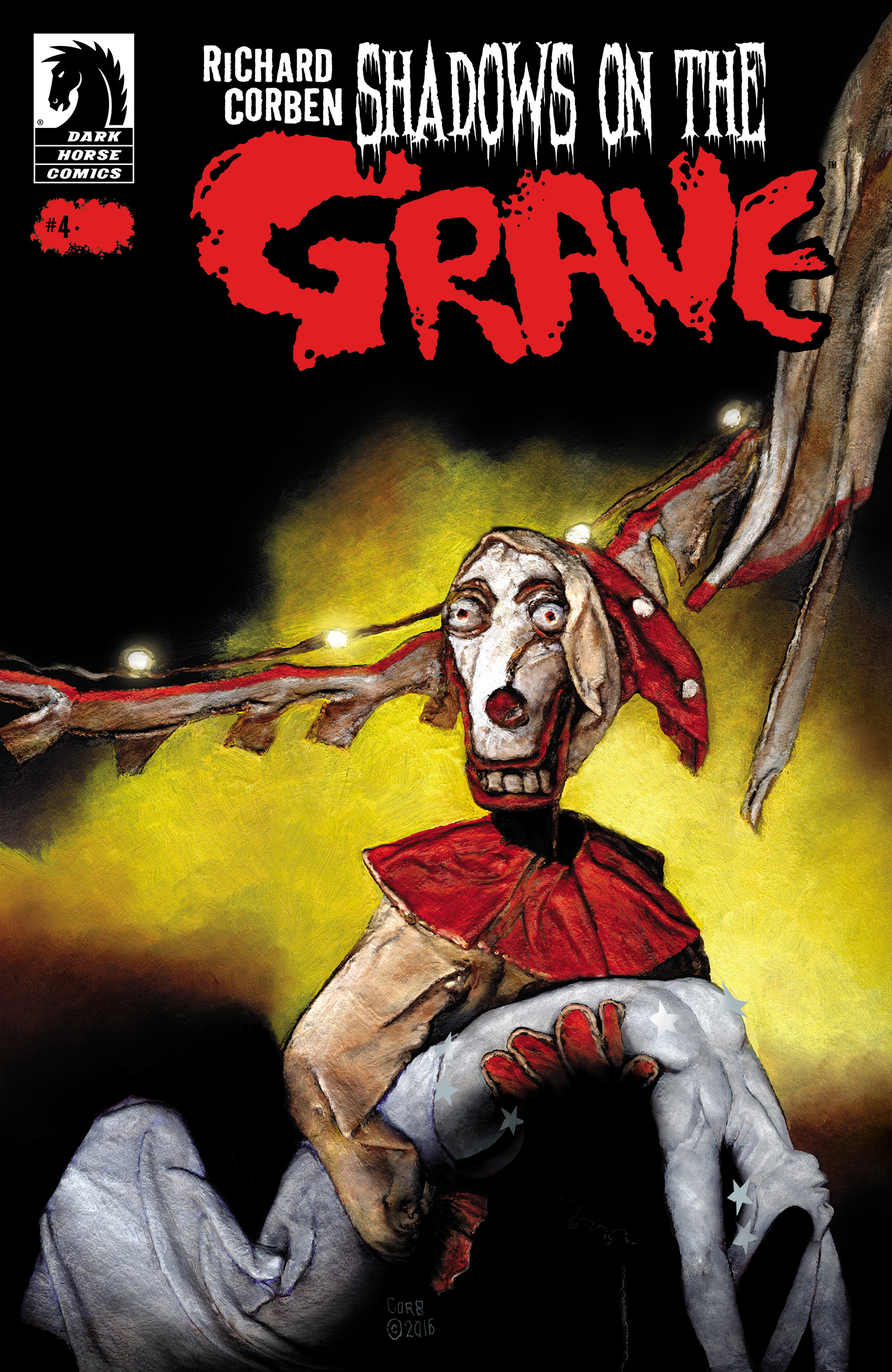 Read online Shadows on the Grave comic -  Issue #4 - 1