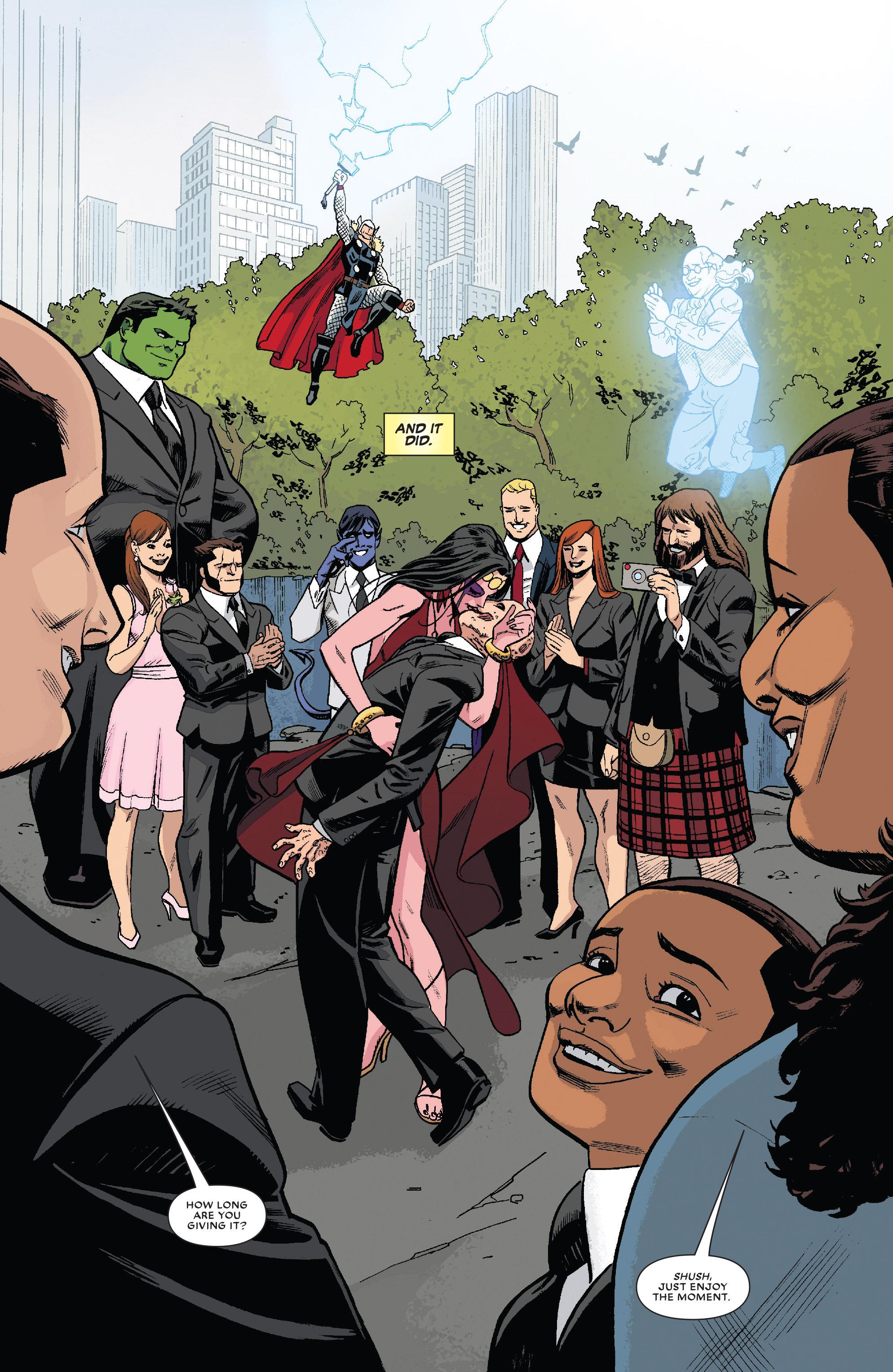 Read online True Believers: The Wedding of Deadpool comic -  Issue # Full - 17