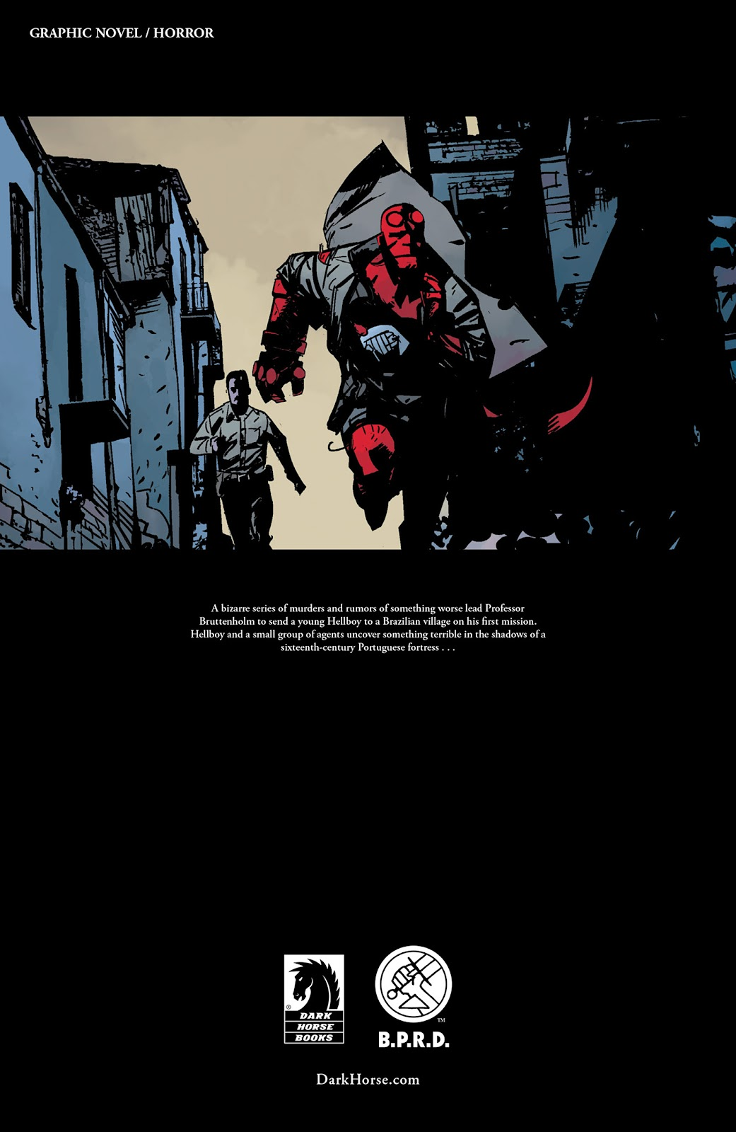 Read online Hellboy and the B.P.R.D. comic -  Issue # _TPB - 144