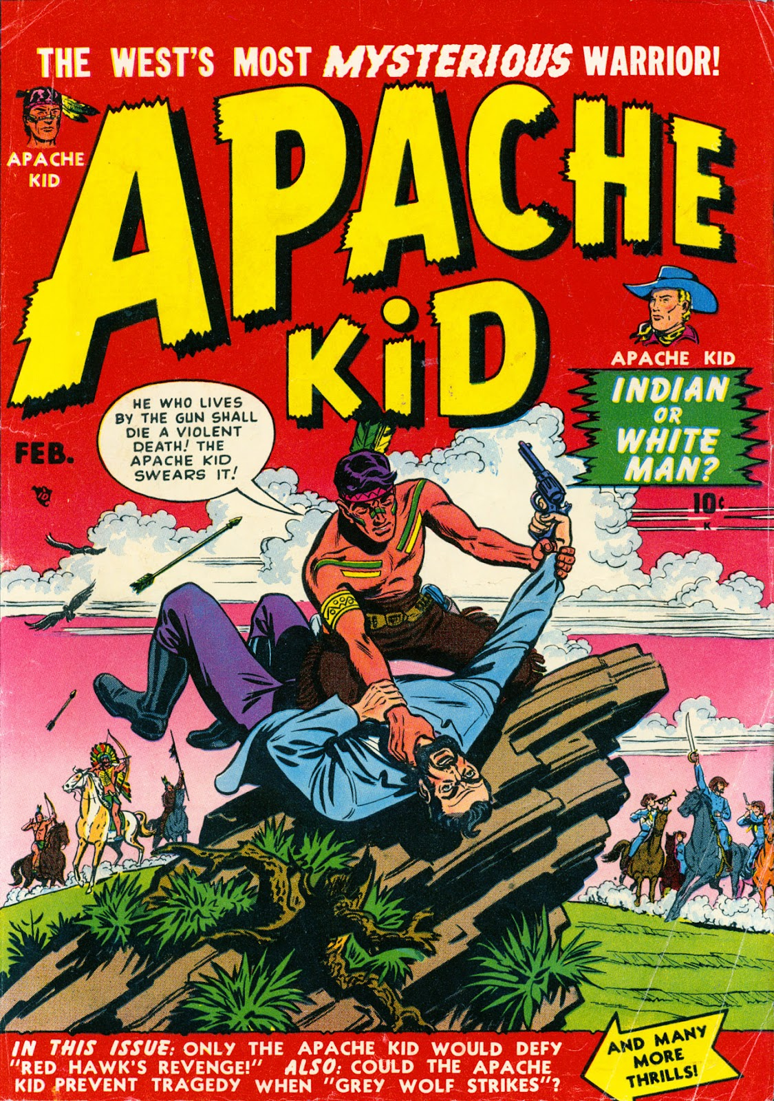Apache Kid issue 2 - Page 1
