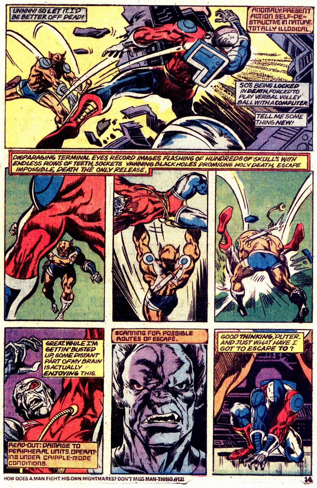 Read online Astonishing Tales (1970) comic -  Issue #27 - 9