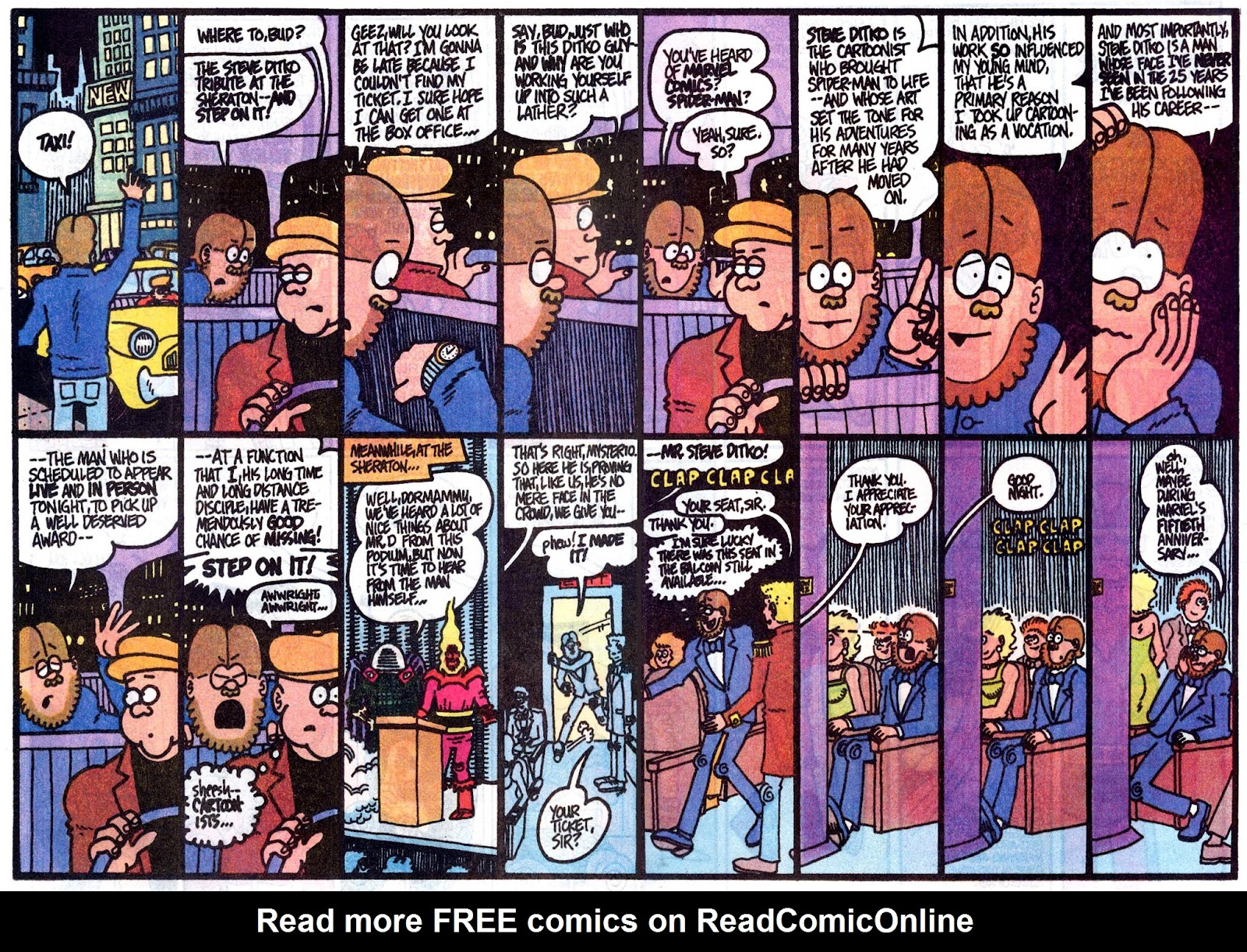 Fred Hembeck Sells the Marvel Universe issue Full - Page 14