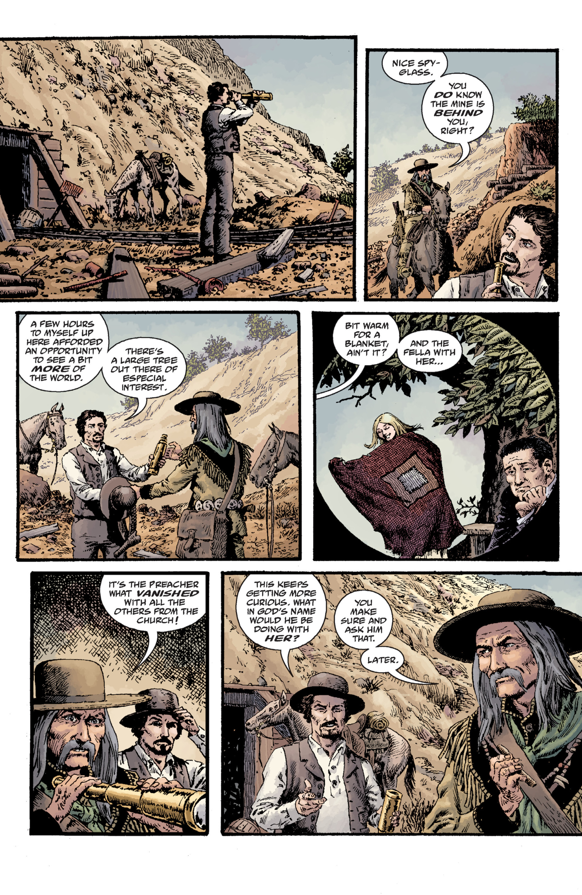 Read online Sir Edward Grey, Witchfinder: Lost and Gone Forever comic -  Issue # TPB - 84