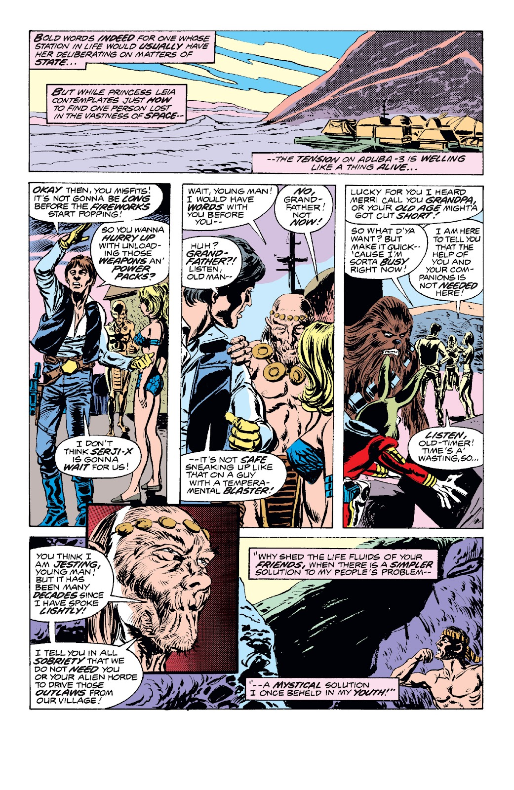 Read online Star Wars Legends: The Original Marvel Years - Epic Collection comic -  Issue # TPB 1 (Part 2) - 63