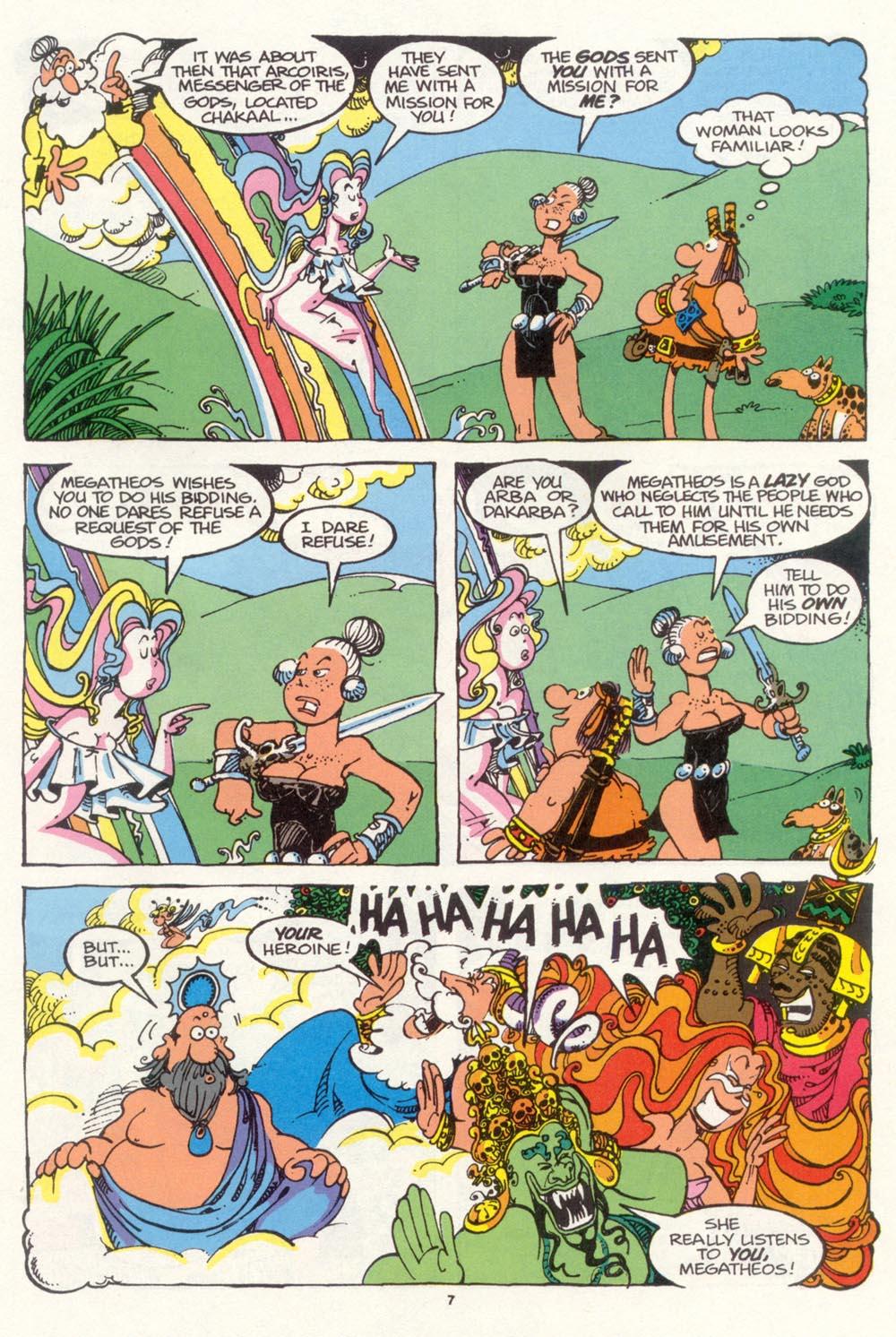 Read online Sergio Aragonés Groo the Wanderer comic -  Issue #98 - 8