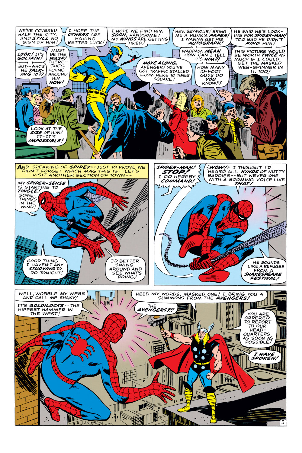 The Amazing Spider-Man (1963) _Annual_3 Page 5