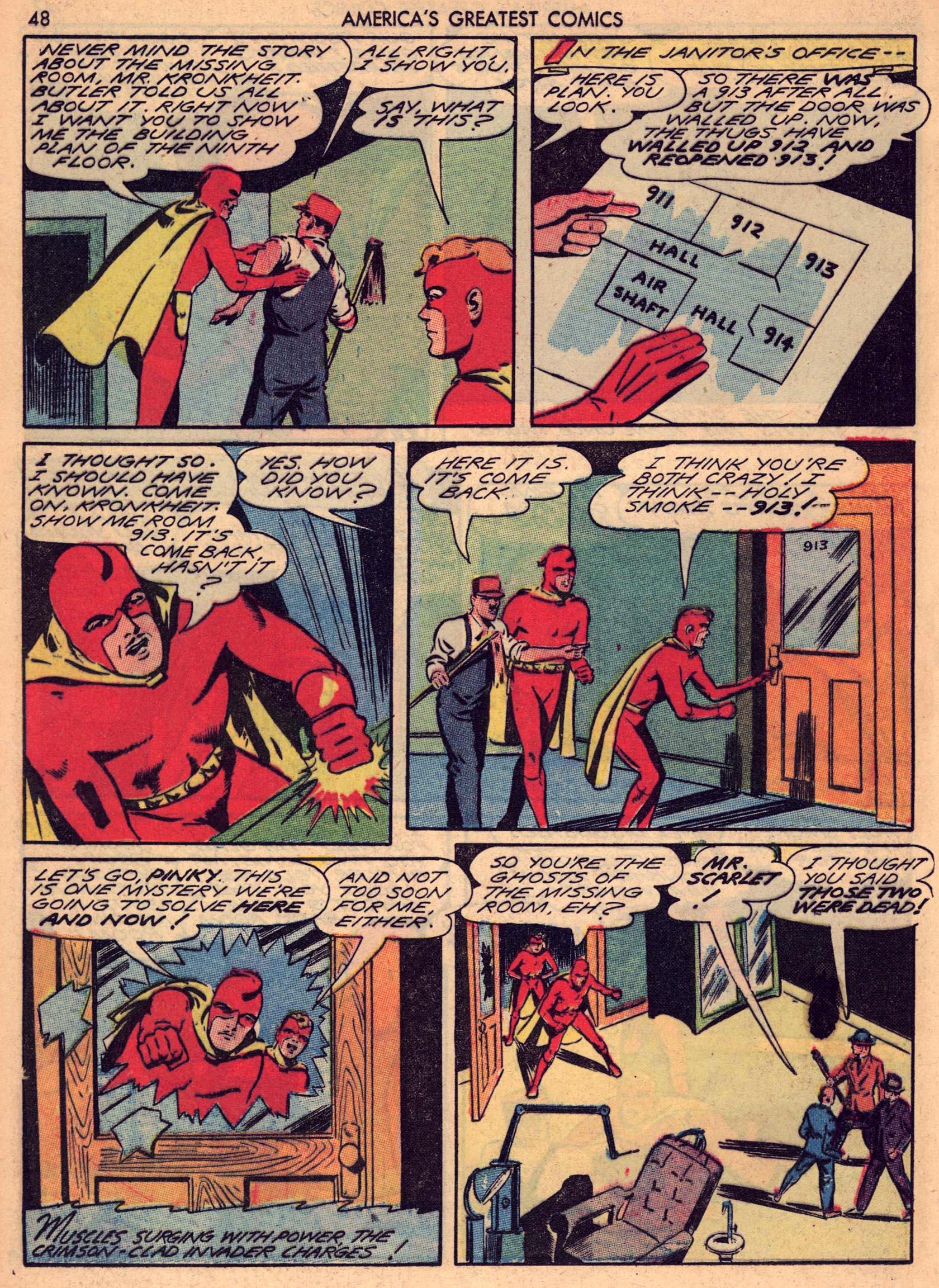 Read online America's Greatest Comics comic -  Issue #7 - 47