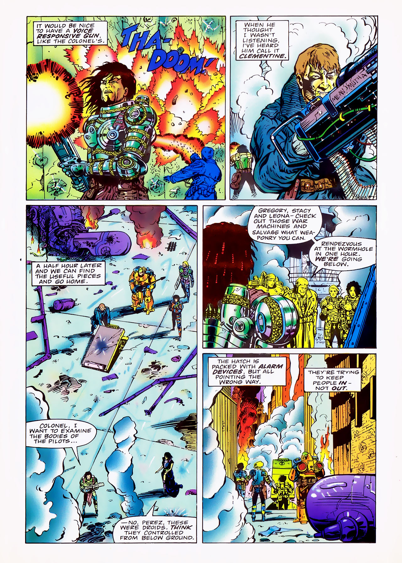 Read online Overkill comic -  Issue #7 - 31