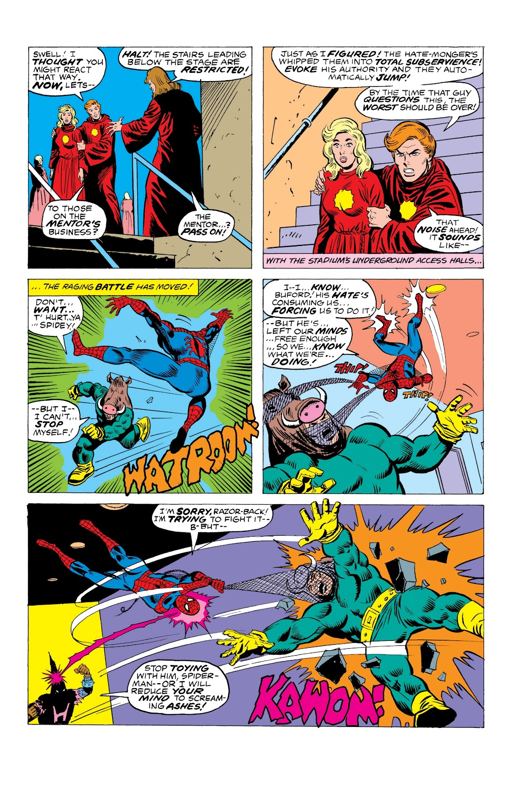 Read online Marvel Masterworks: The Spectacular Spider-Man comic -  Issue # TPB (Part 3) - 42