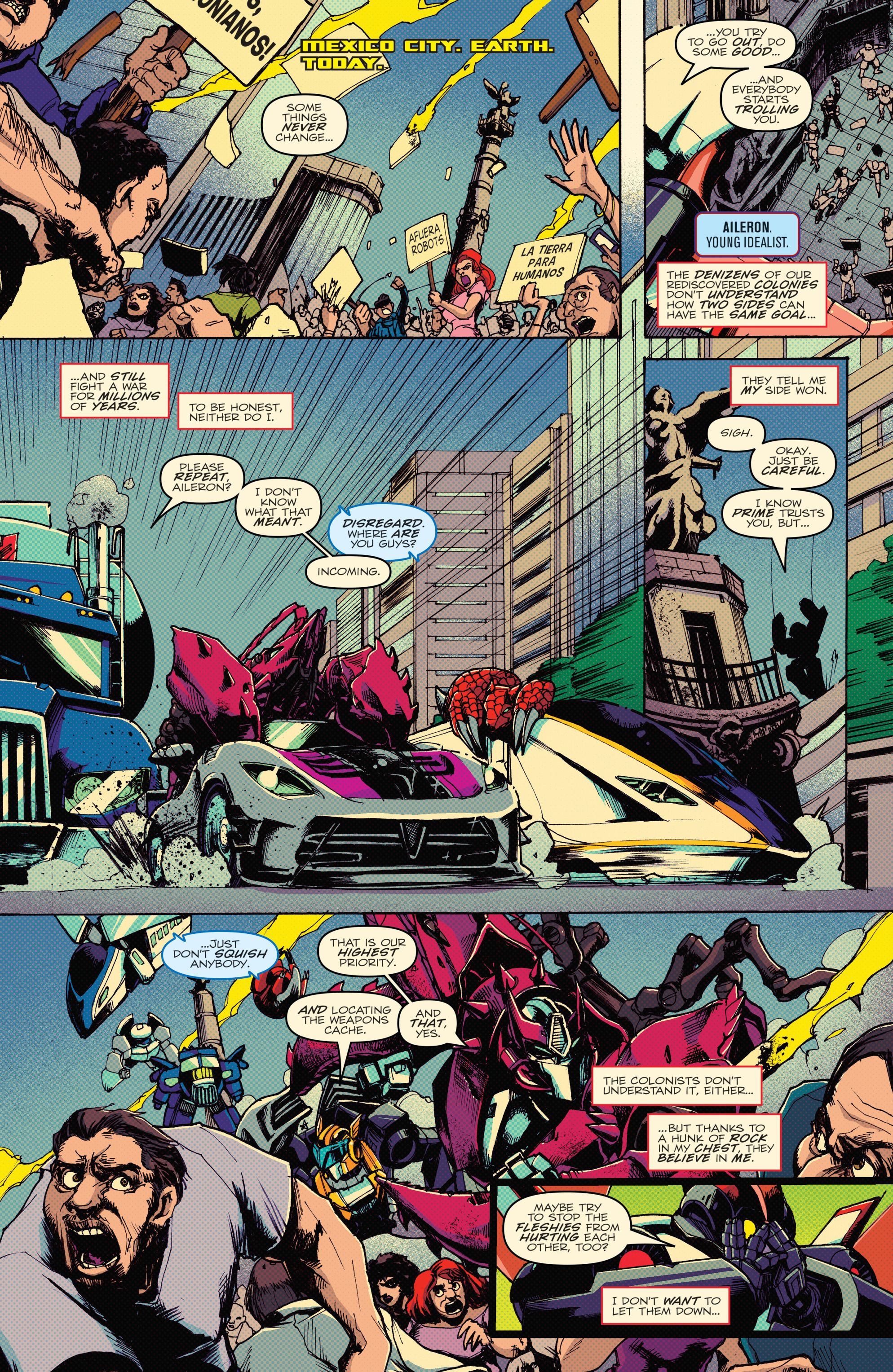 Read online Transformers: Lost Light comic -  Issue #1 - 36