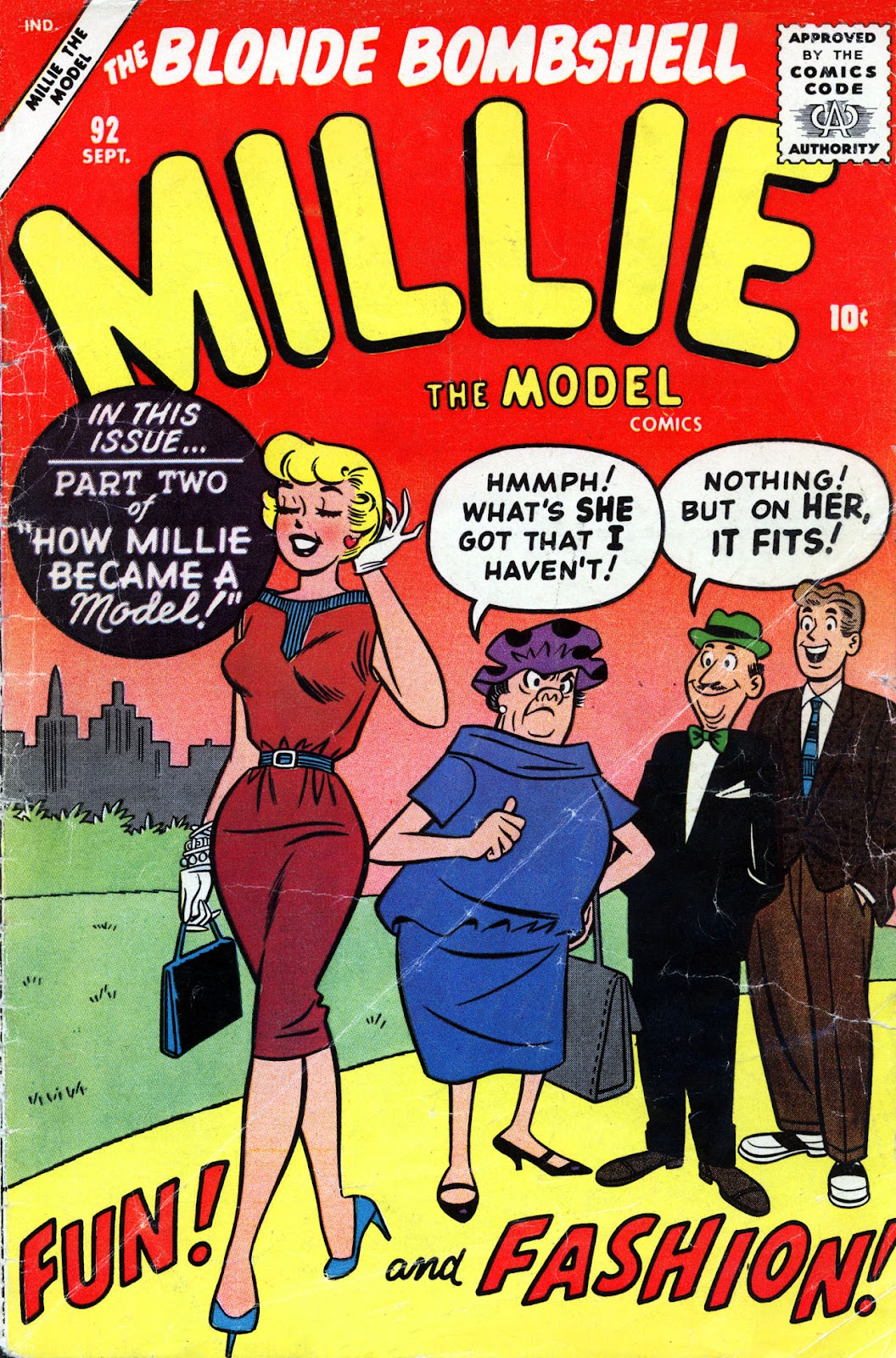 Millie the Model issue 92 - Page 1