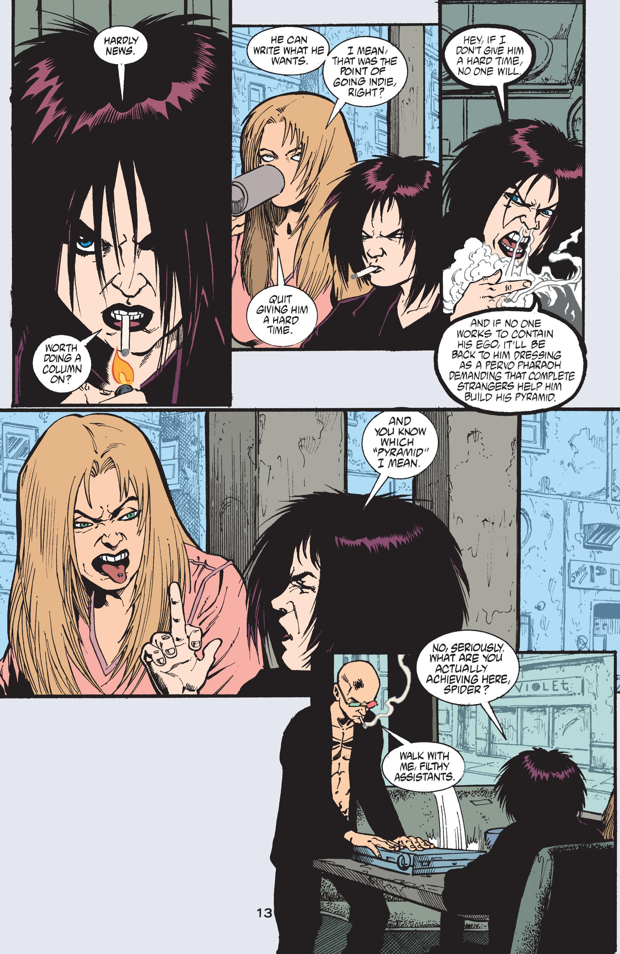 Read online Transmetropolitan comic -  Issue #41 - 14
