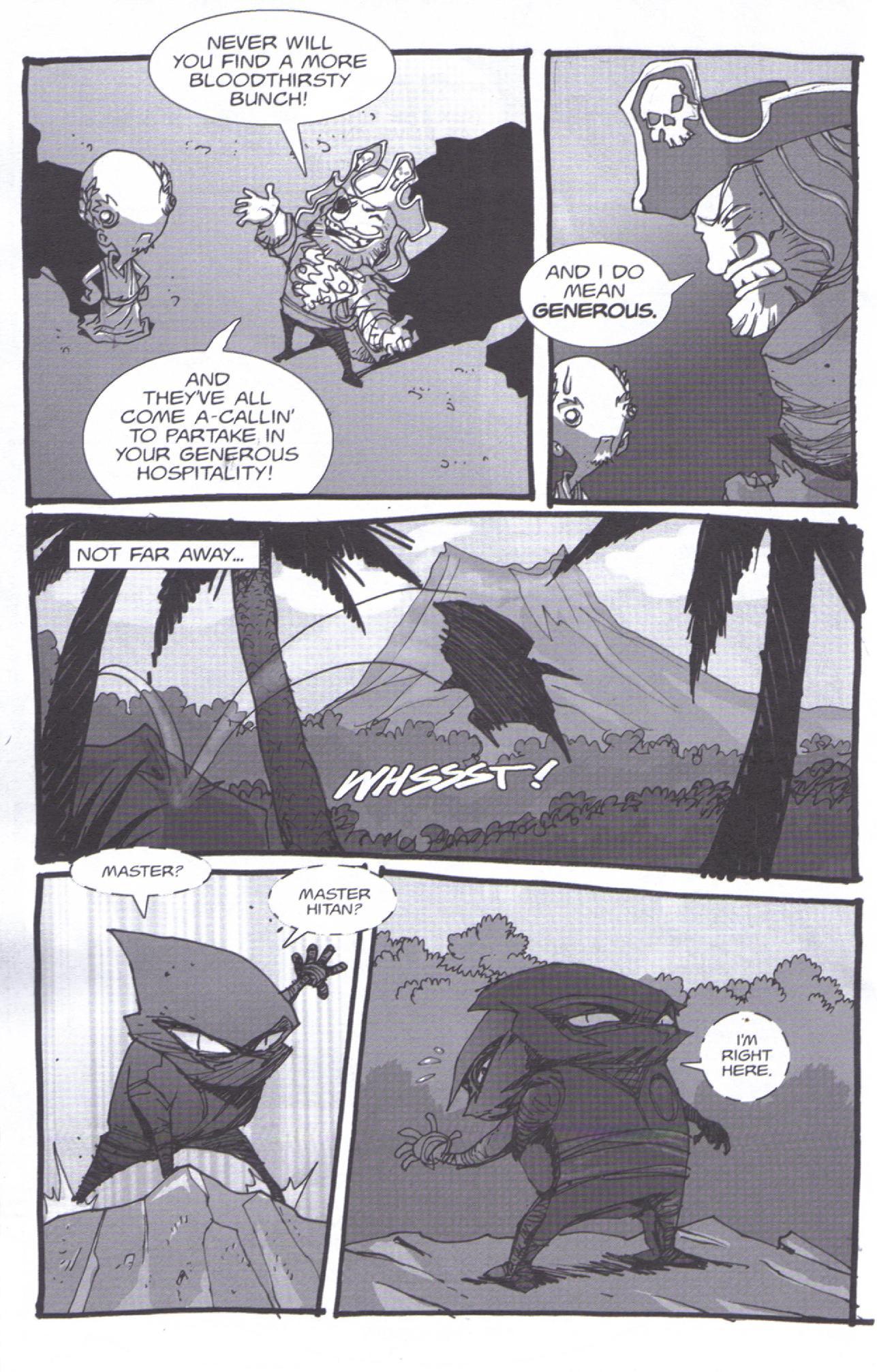 Read online Pirates vs. Ninjas: Global Harming comic -  Issue # Full - 17