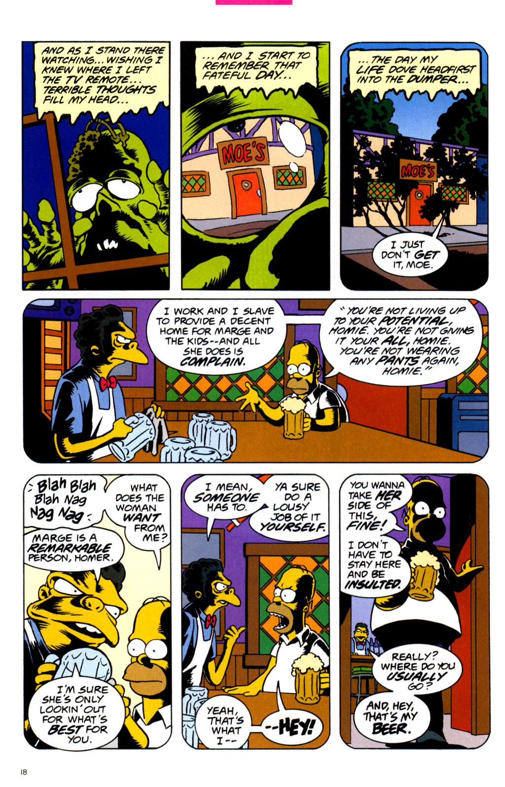 Read online Treehouse of Horror comic -  Issue #11 - 20
