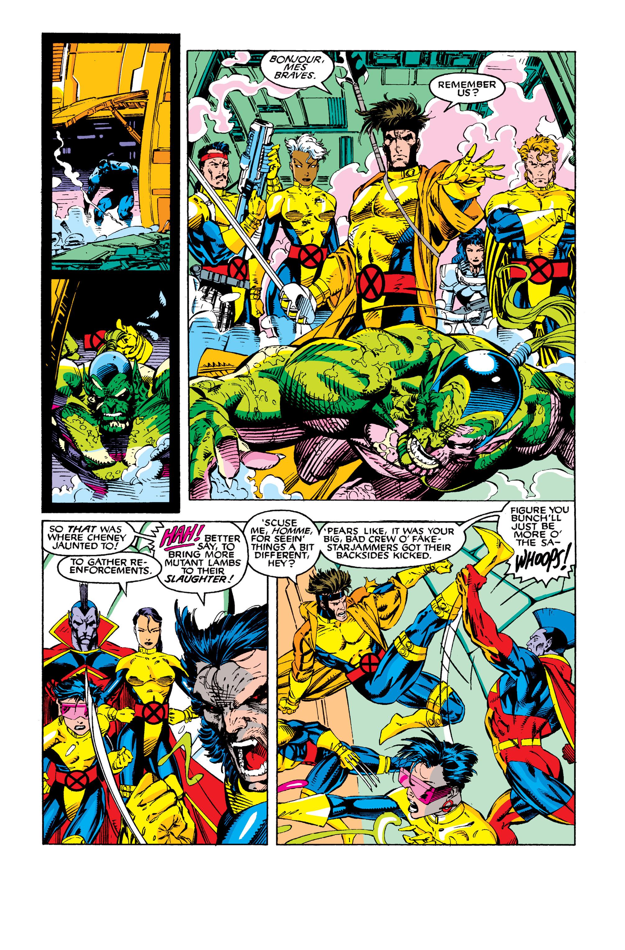Read online Uncanny X-Men (1963) comic -  Issue #277 - 14