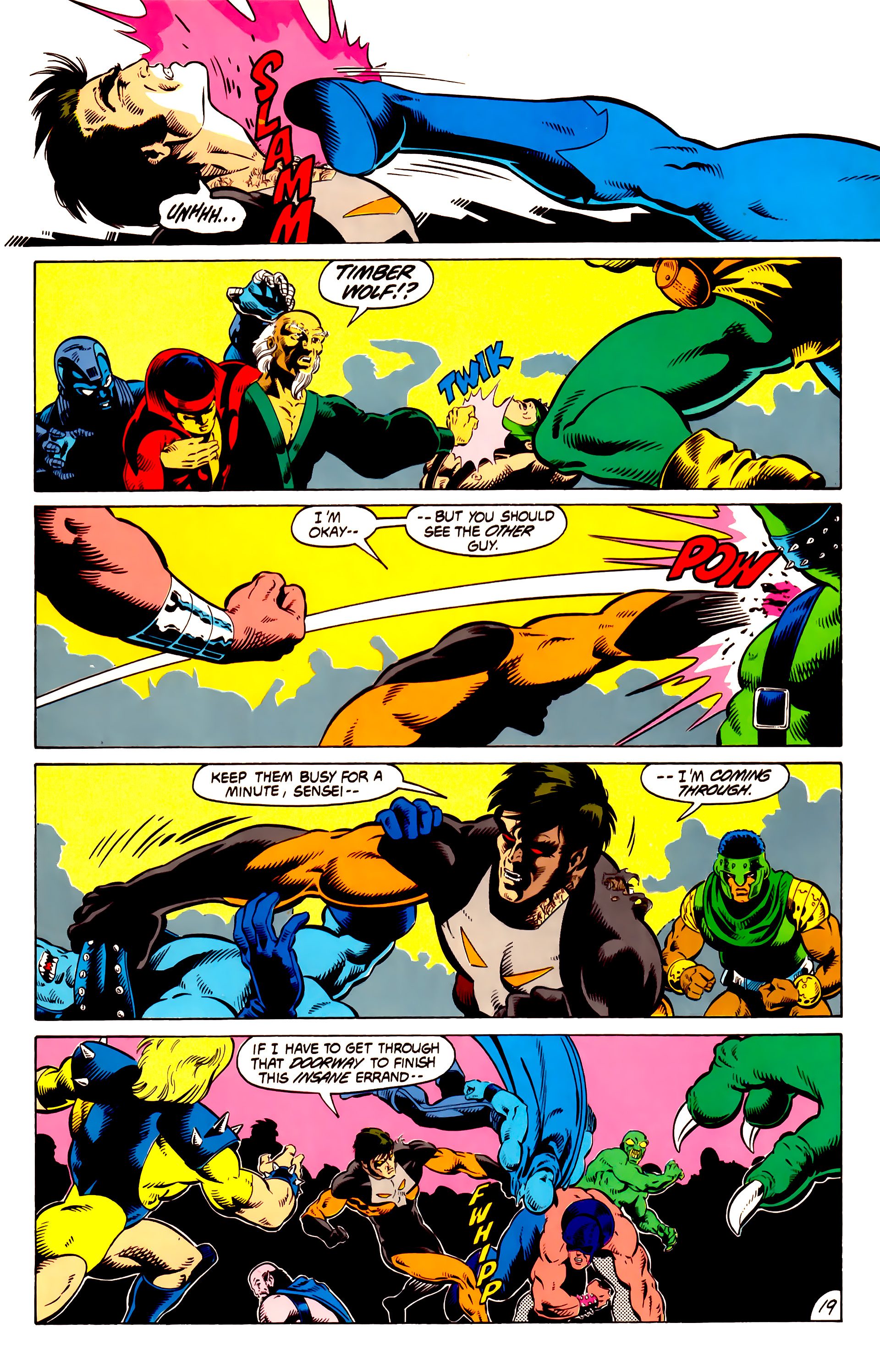 Legion of Super-Heroes (1984) 13 Page 20