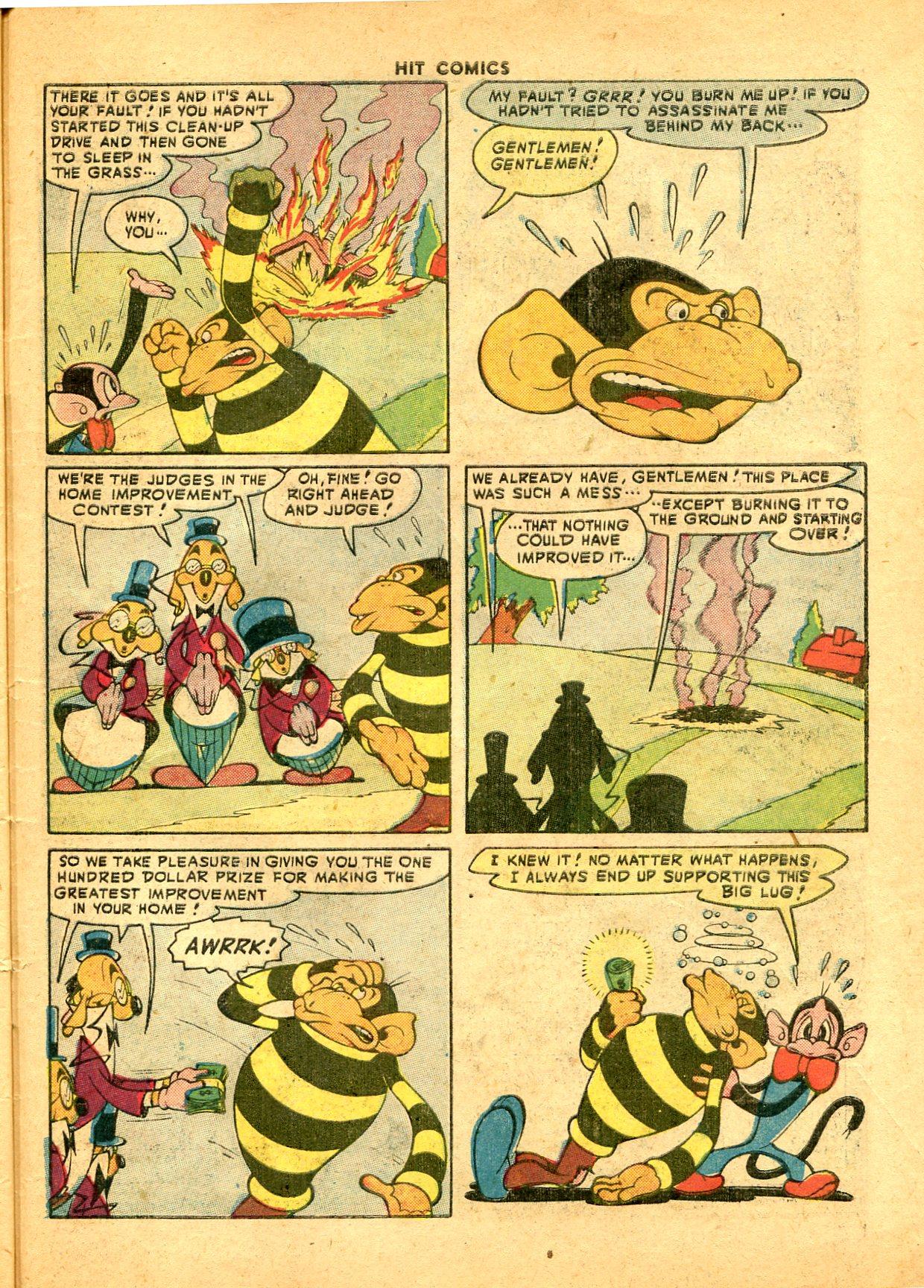 Read online Hit Comics comic -  Issue #49 - 49