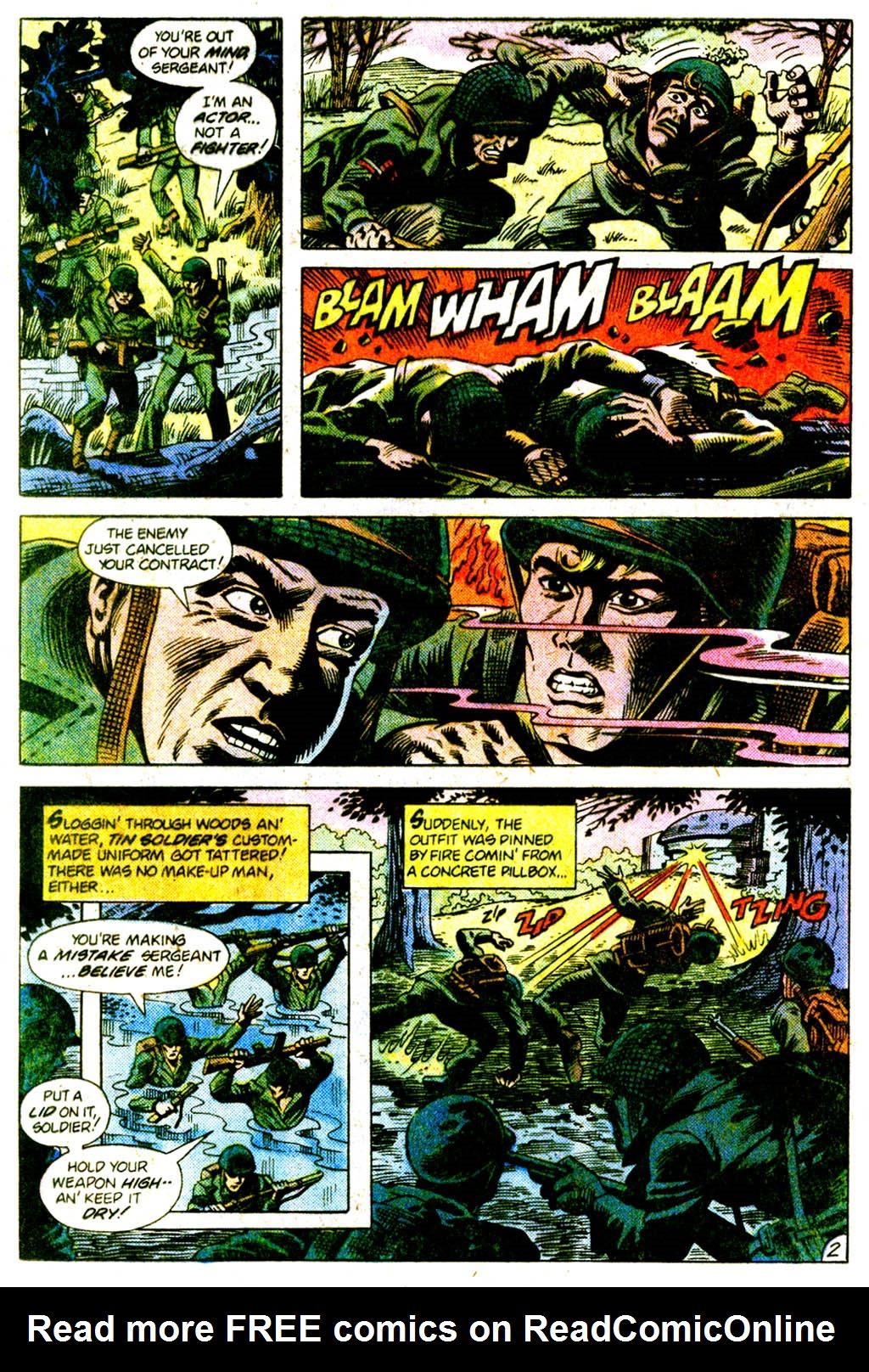 Read online Sgt. Rock comic -  Issue #375 - 19