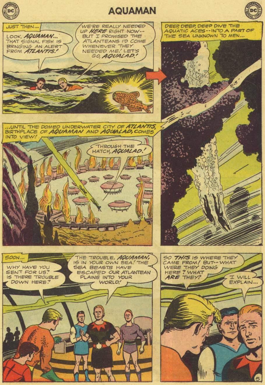 Read online Aquaman (1962) comic -  Issue #7 - 7