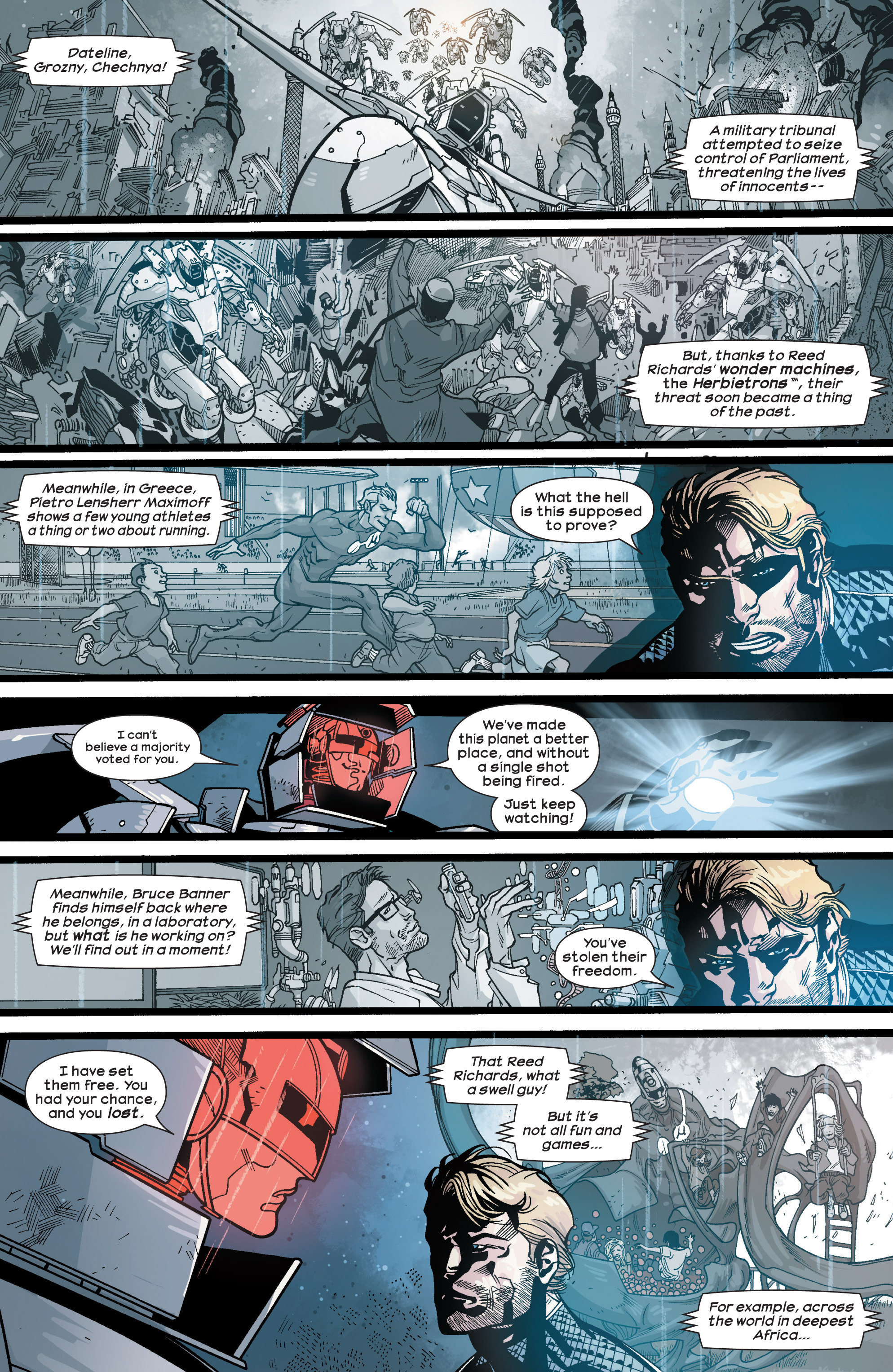 Read online Ultimate Comics Ultimates comic -  Issue #28 - 5