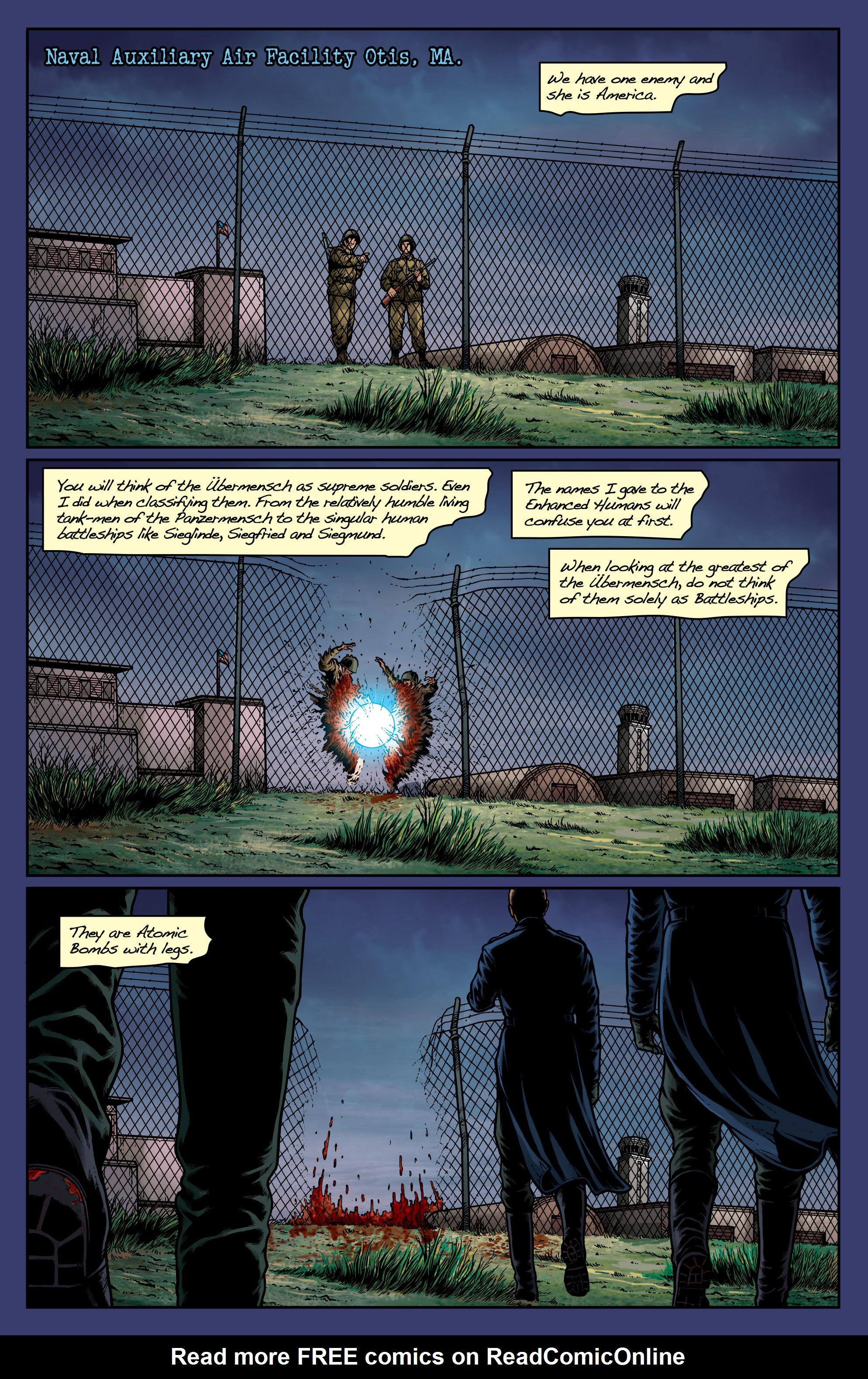 Read online Uber: Invasion comic -  Issue #1 - 8