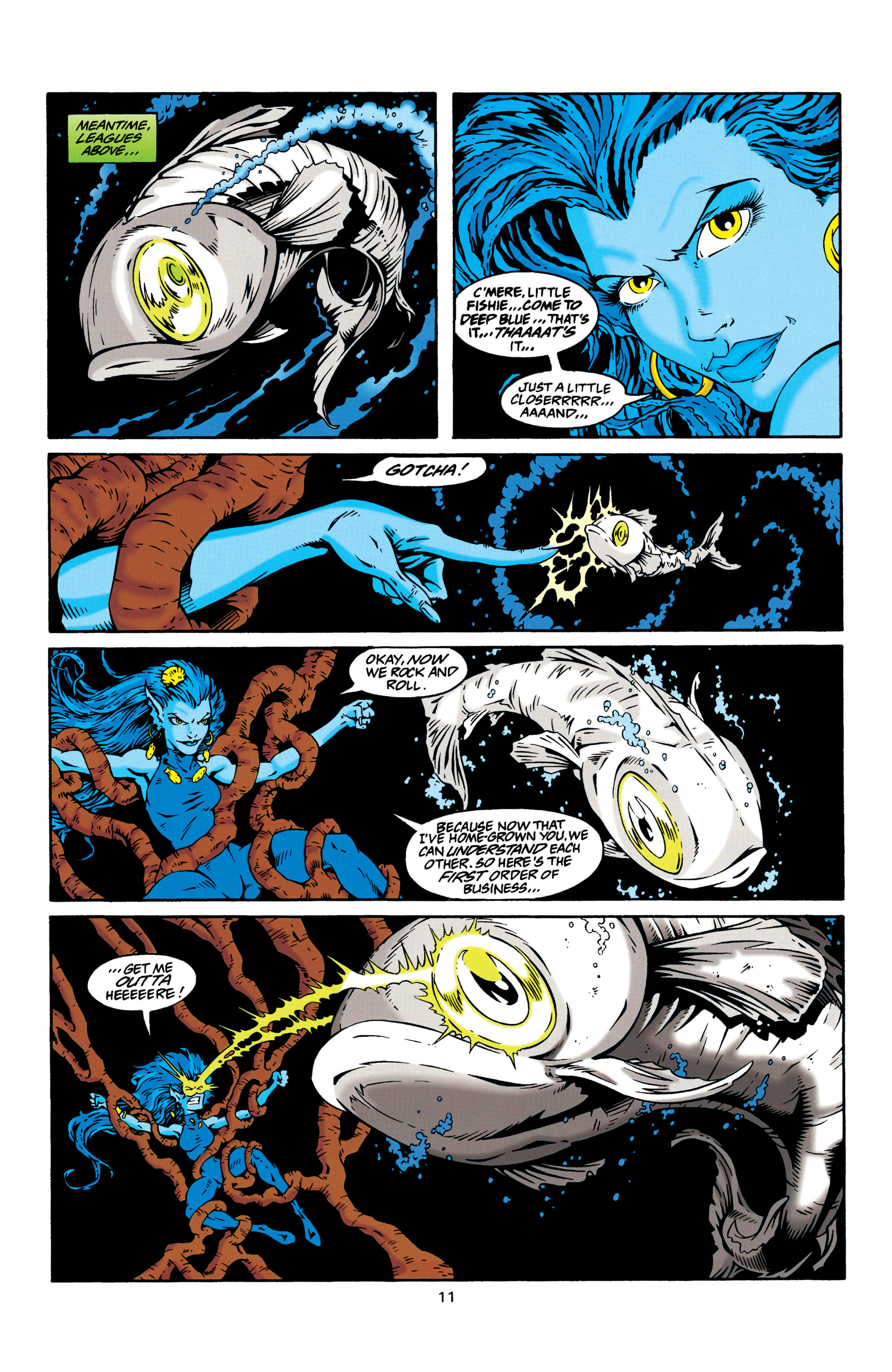 Read online Aquaman (1994) comic -  Issue #30 - 11