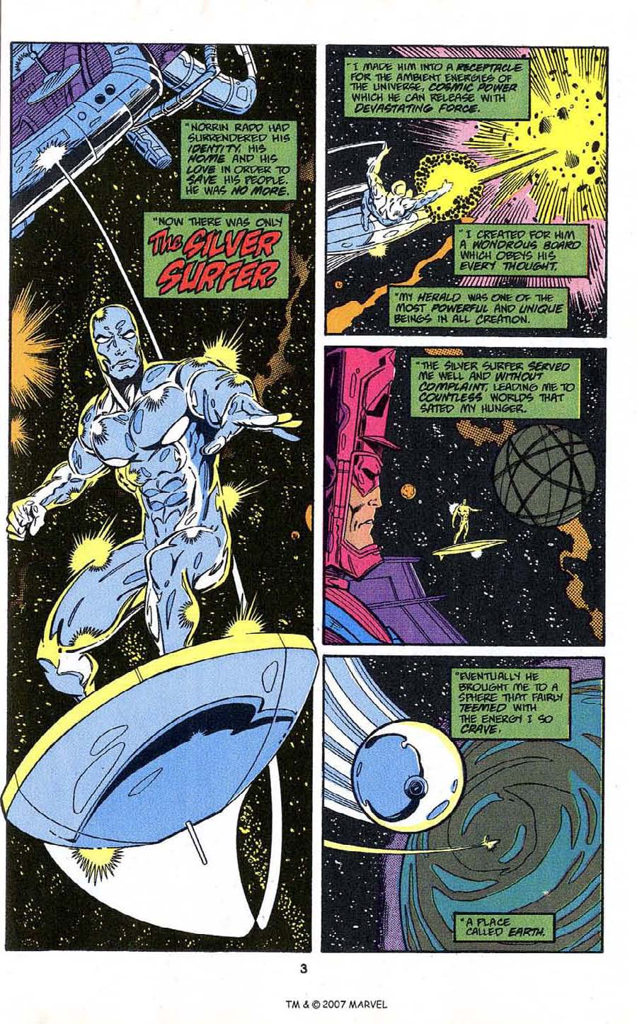Read online Silver Surfer (1987) comic -  Issue # _Annual 4 - 5